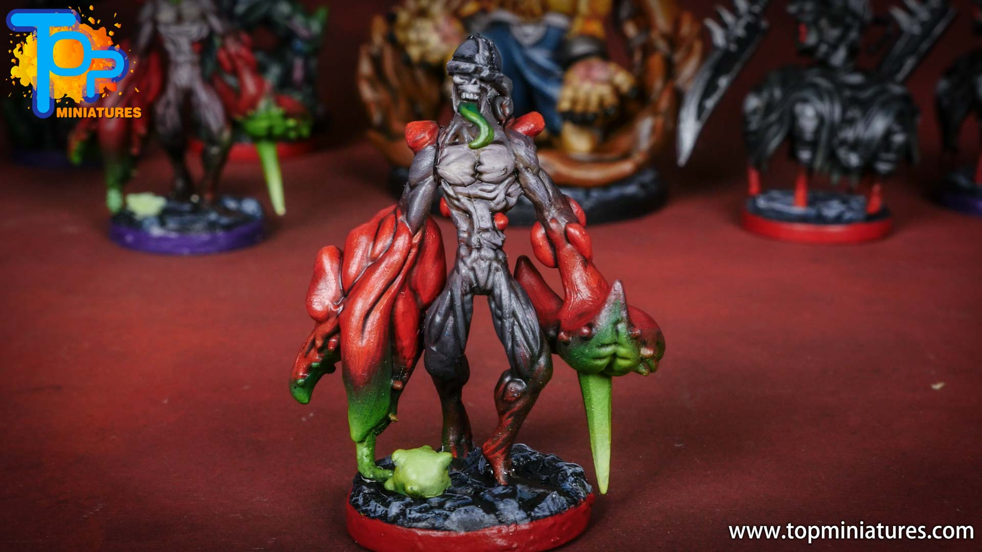 middara painted miniatures Blighted guardian (2)