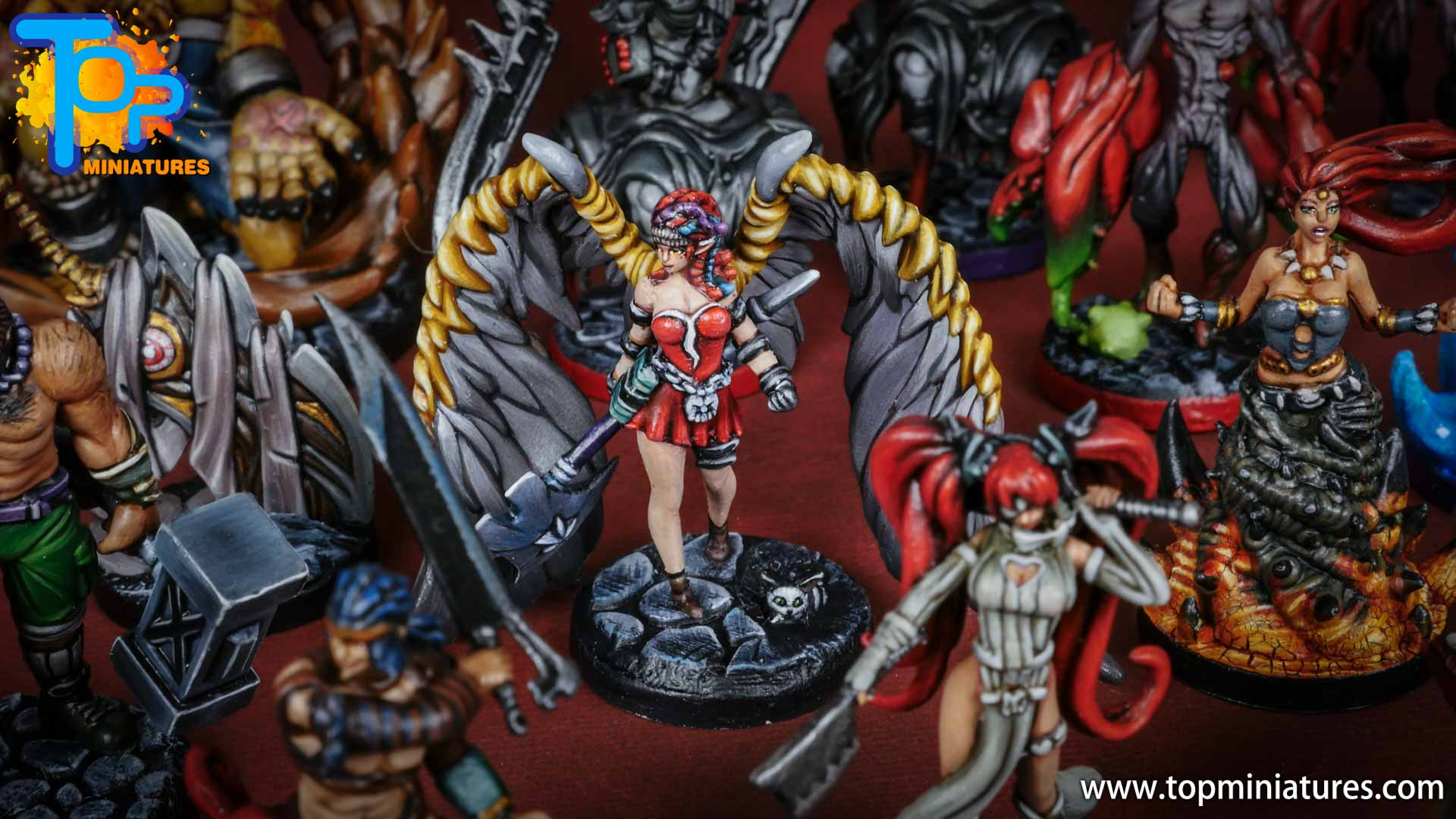middara painted miniatures Remi (1)