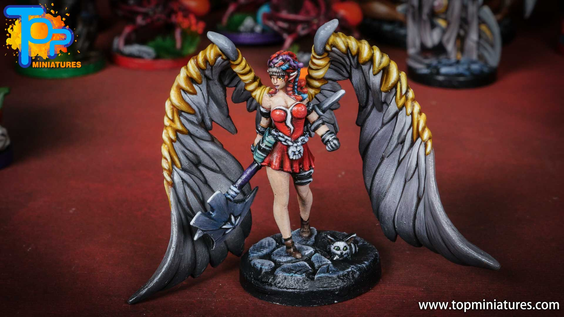 middara painted miniatures Remi (2)