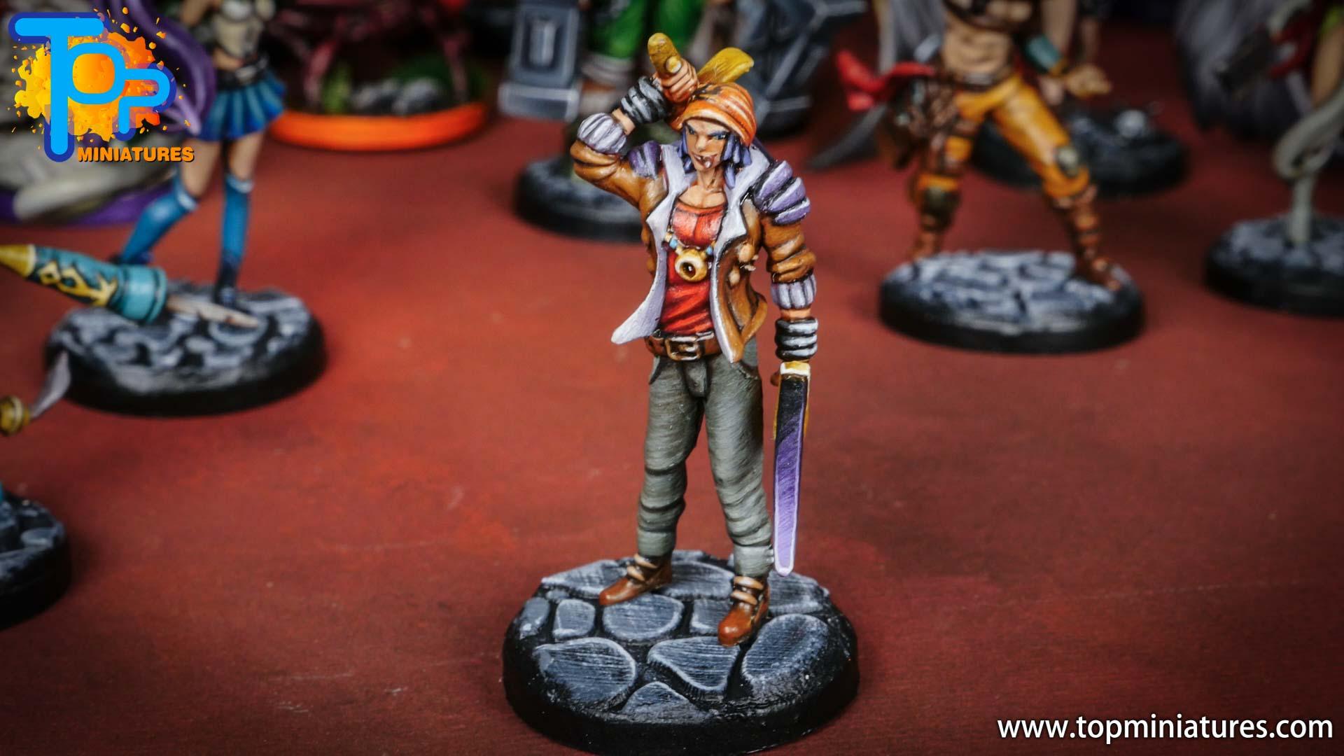 middara painted miniatures Zeke (2)