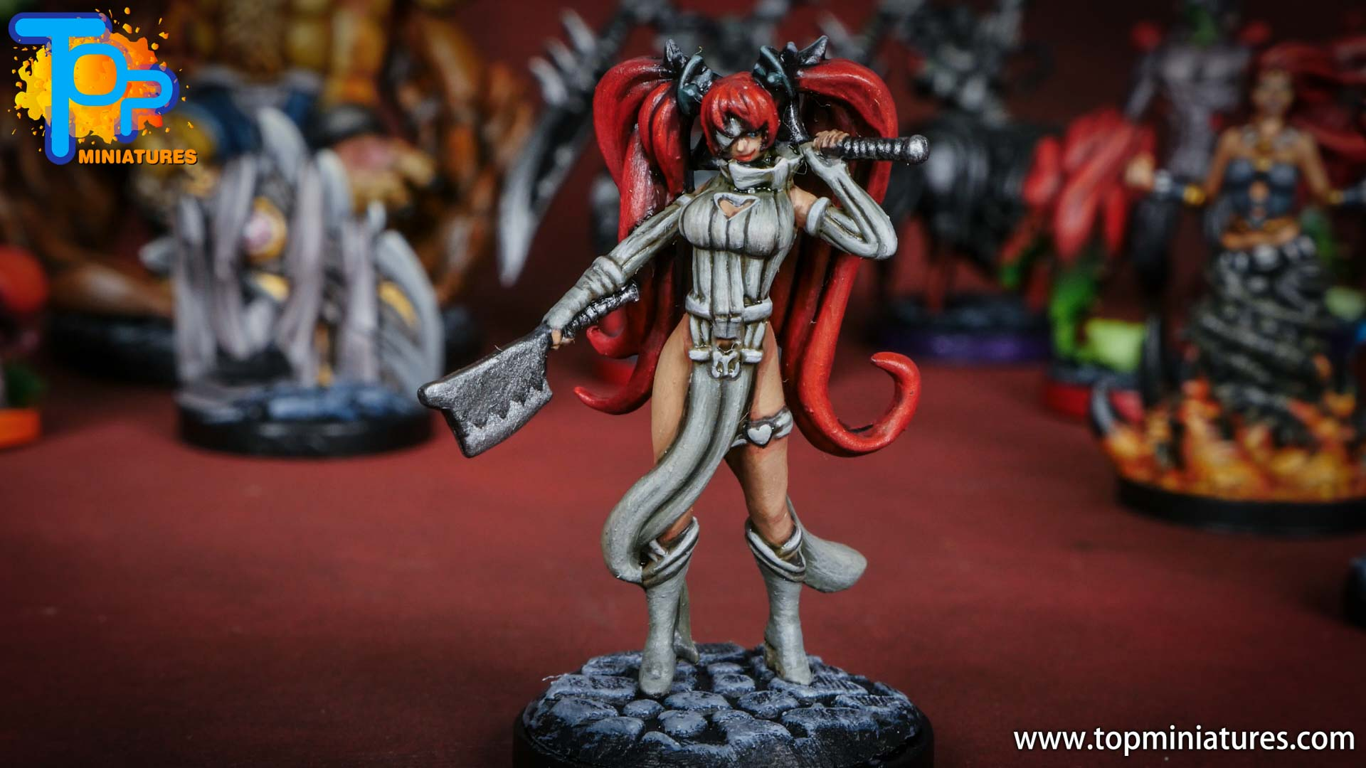 middara painted miniatures aisling (1)