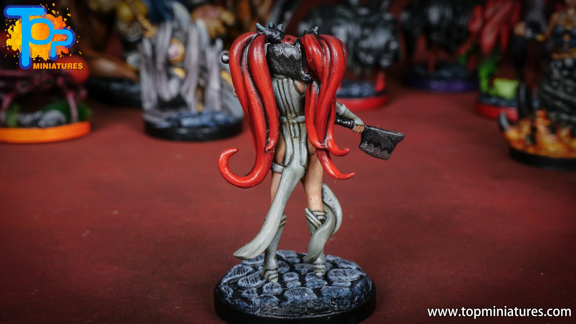 middara painted miniatures aisling (2)