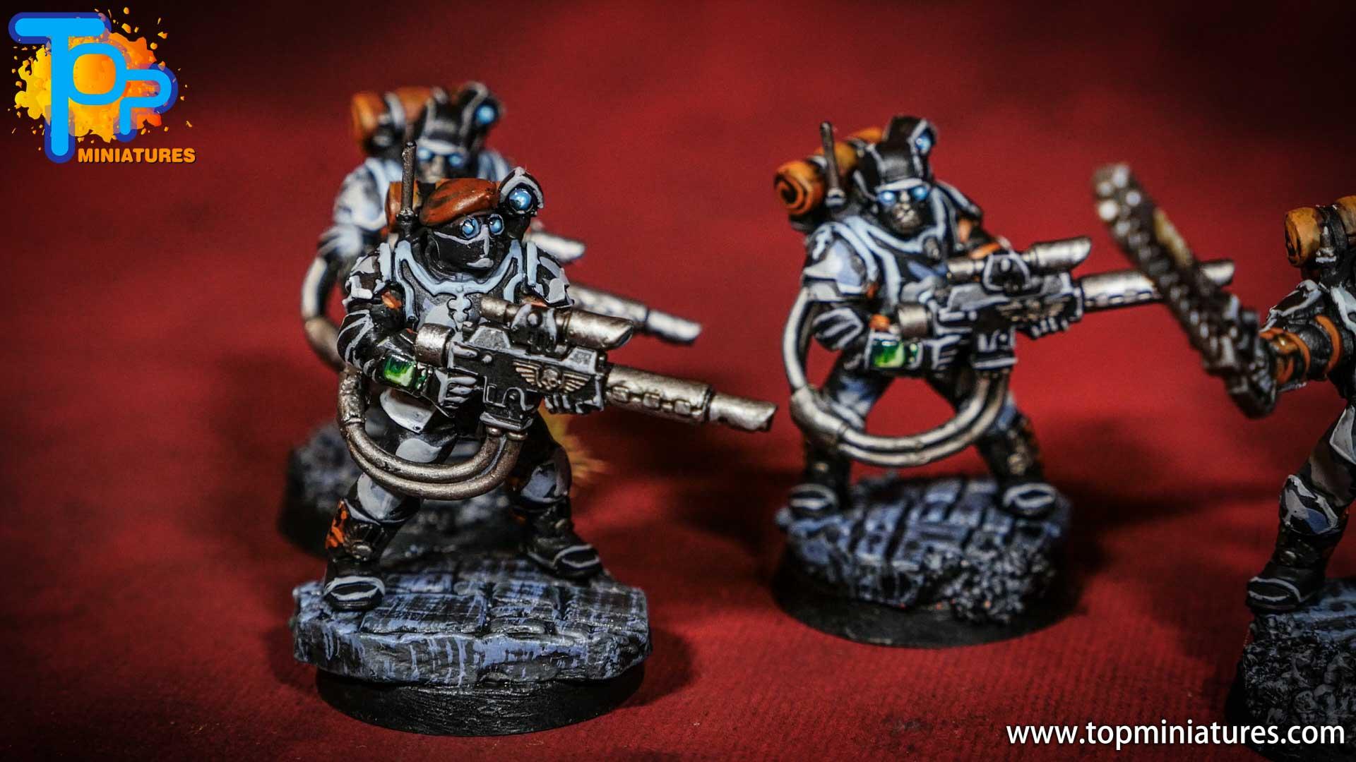 militarum tempestus scions painted army (1)