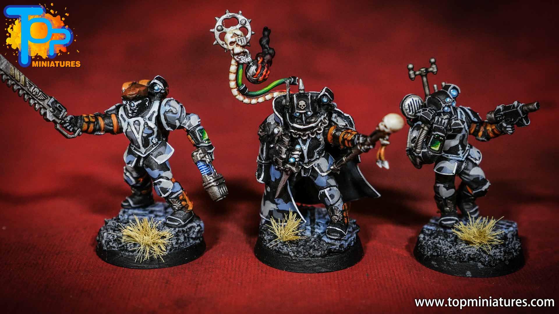 militarum tempestus scions painted army (2)