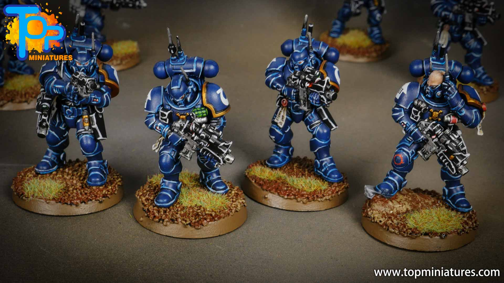 primaris ultramarines shadowspear infiltrator squad (2)