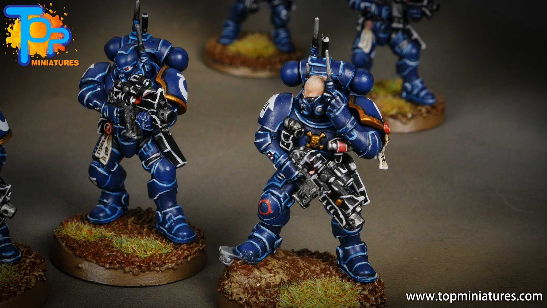 primaris ultramarines shadowspear infiltrator squad (3)