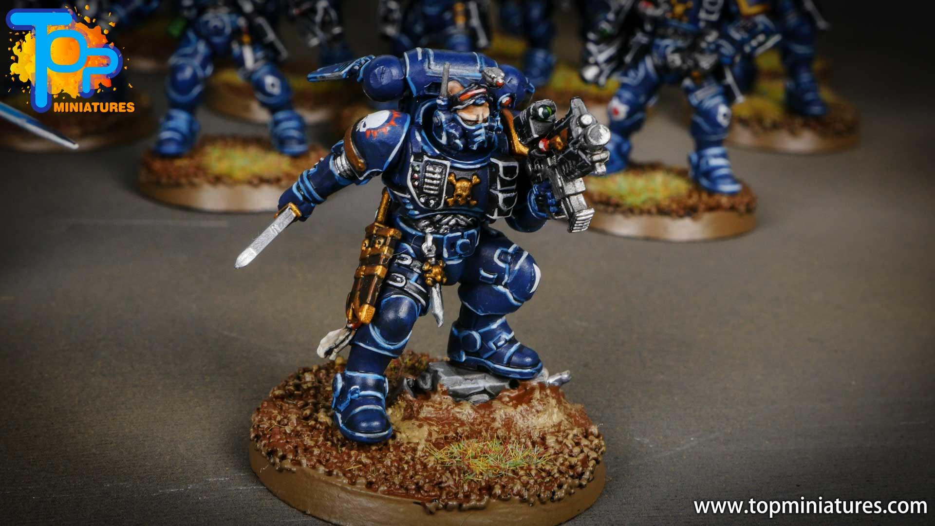 primaris ultramarines shadowspear infiltrator squad (5)