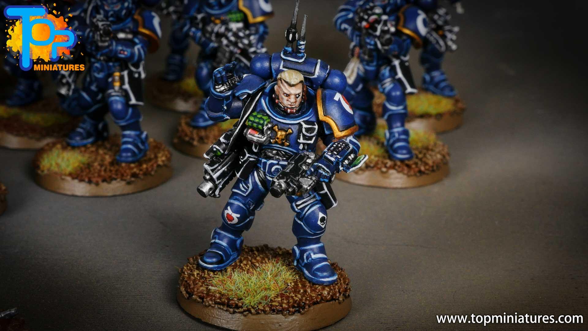 primaris ultramarines shadowspear infiltrator squad (6)