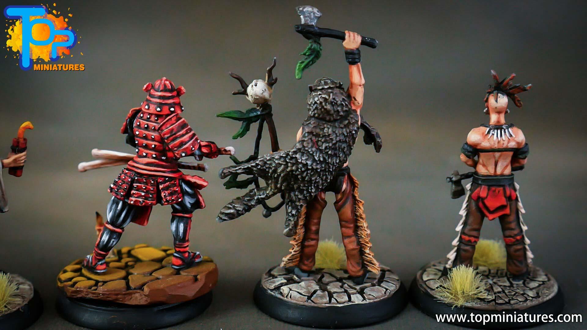 shadows of brimstone samurai, indian brave, war shaman (1)