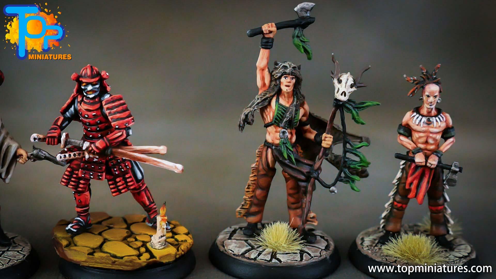 shadows of brimstone samurai, indian brave, war shaman (2)