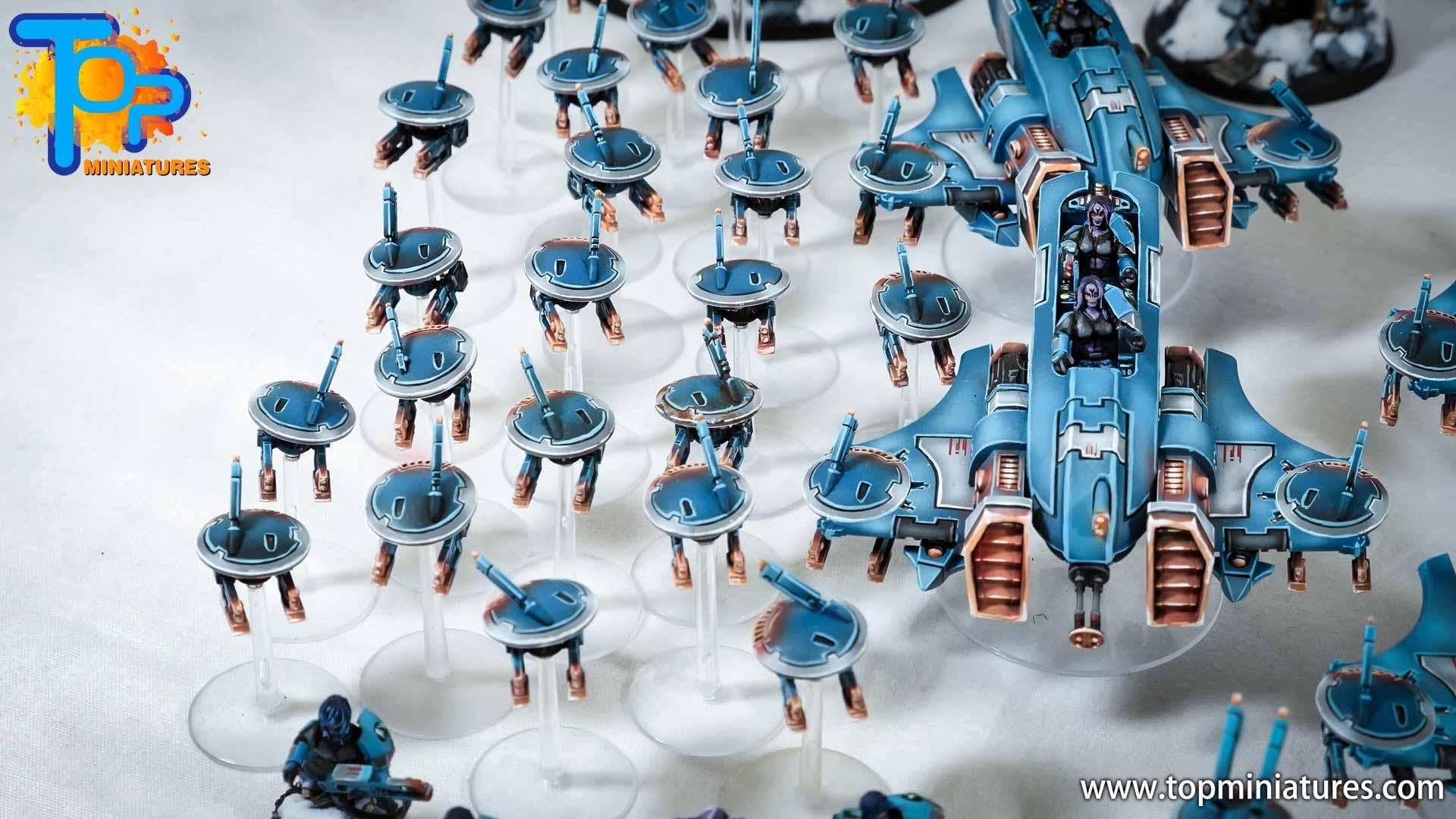 spikeybits tau empire gun drones (5)