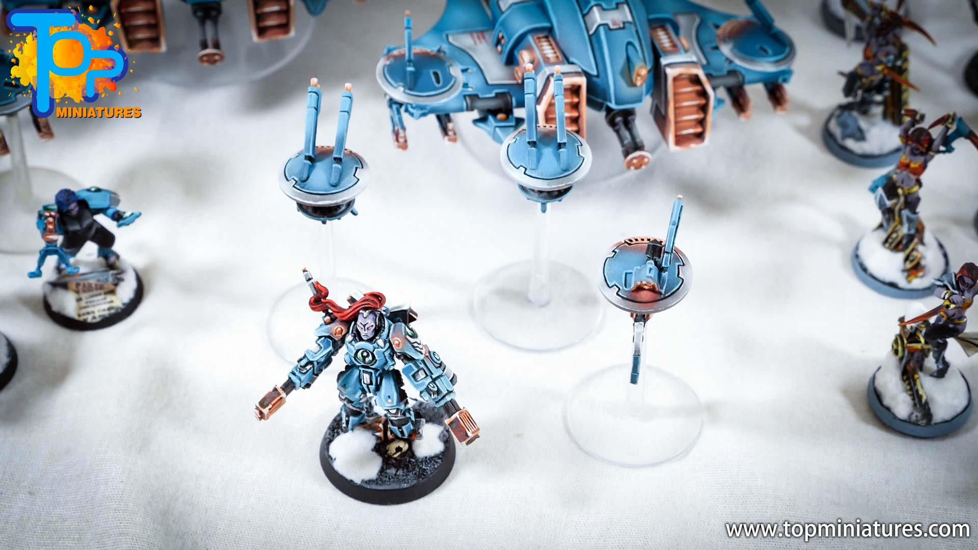 spikeybits tau empire painted army (10)