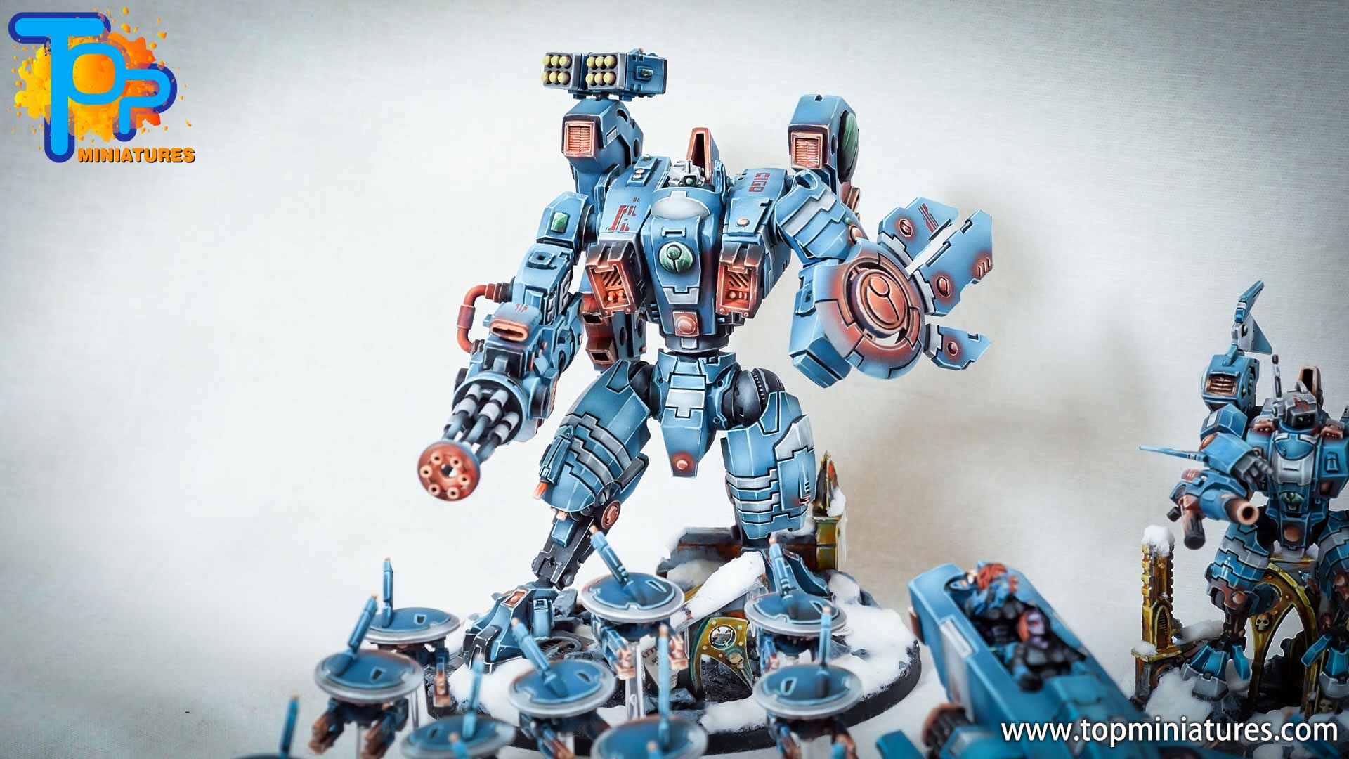 spikeybits tau empire painted army (11)