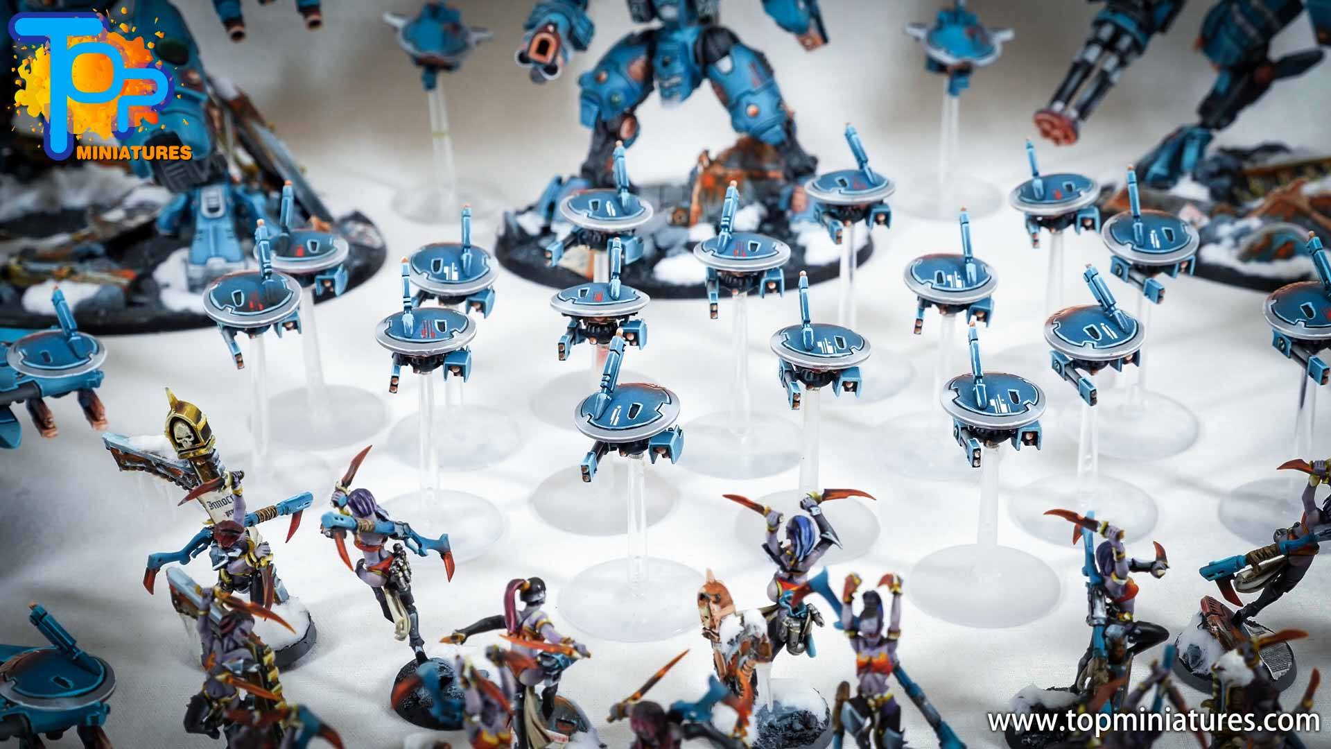 spikeybits tau empire painted army (15)