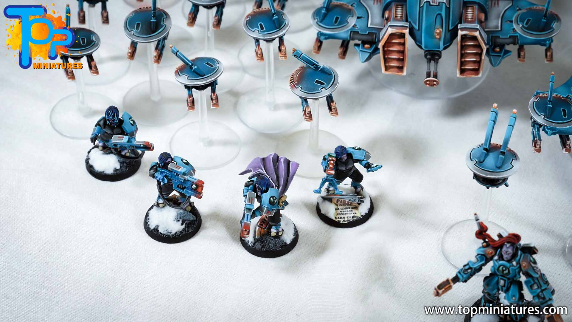 spikeybits tau empire painted army (9)