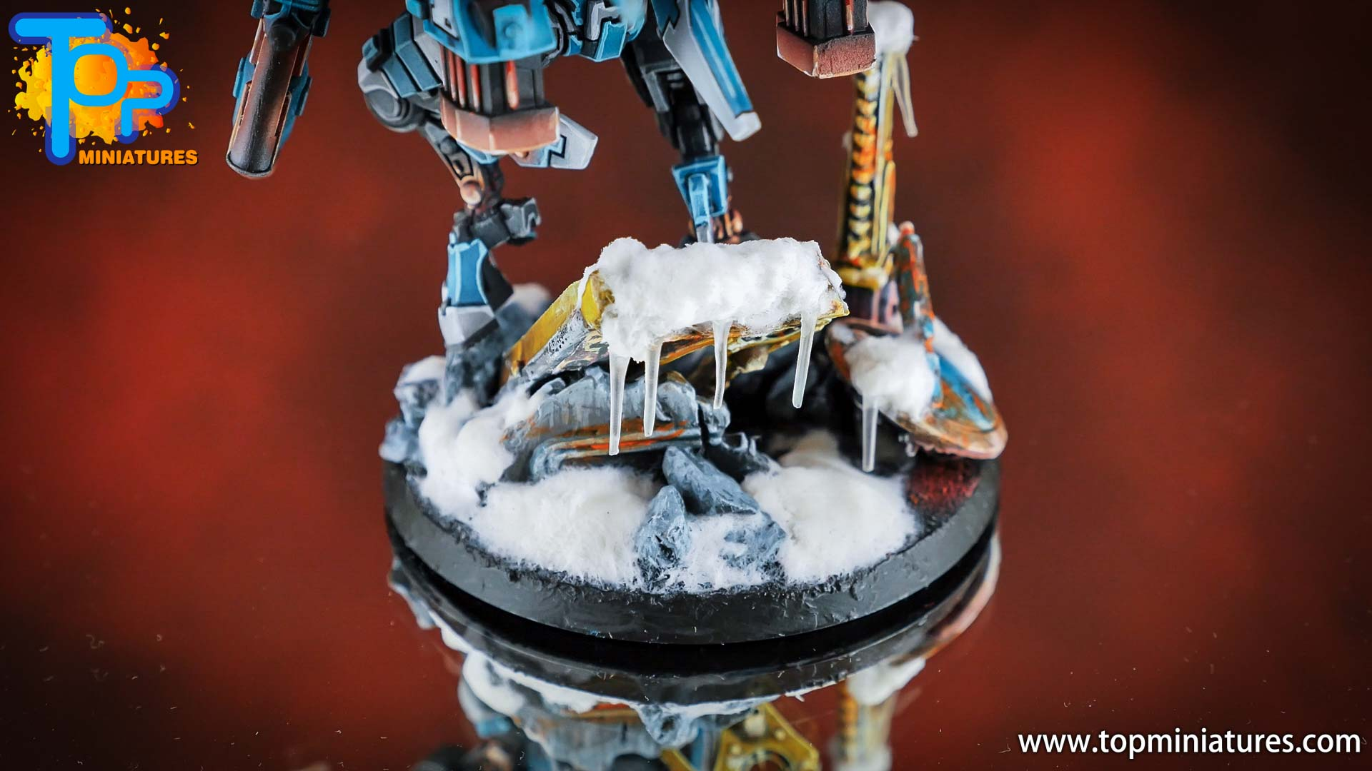 spikeybits tau empire painted commander (3)