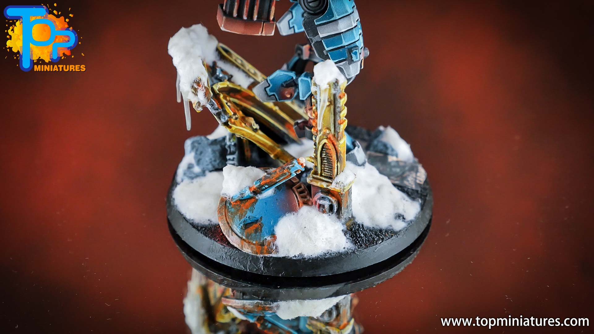 spikeybits tau empire painted commander (4)