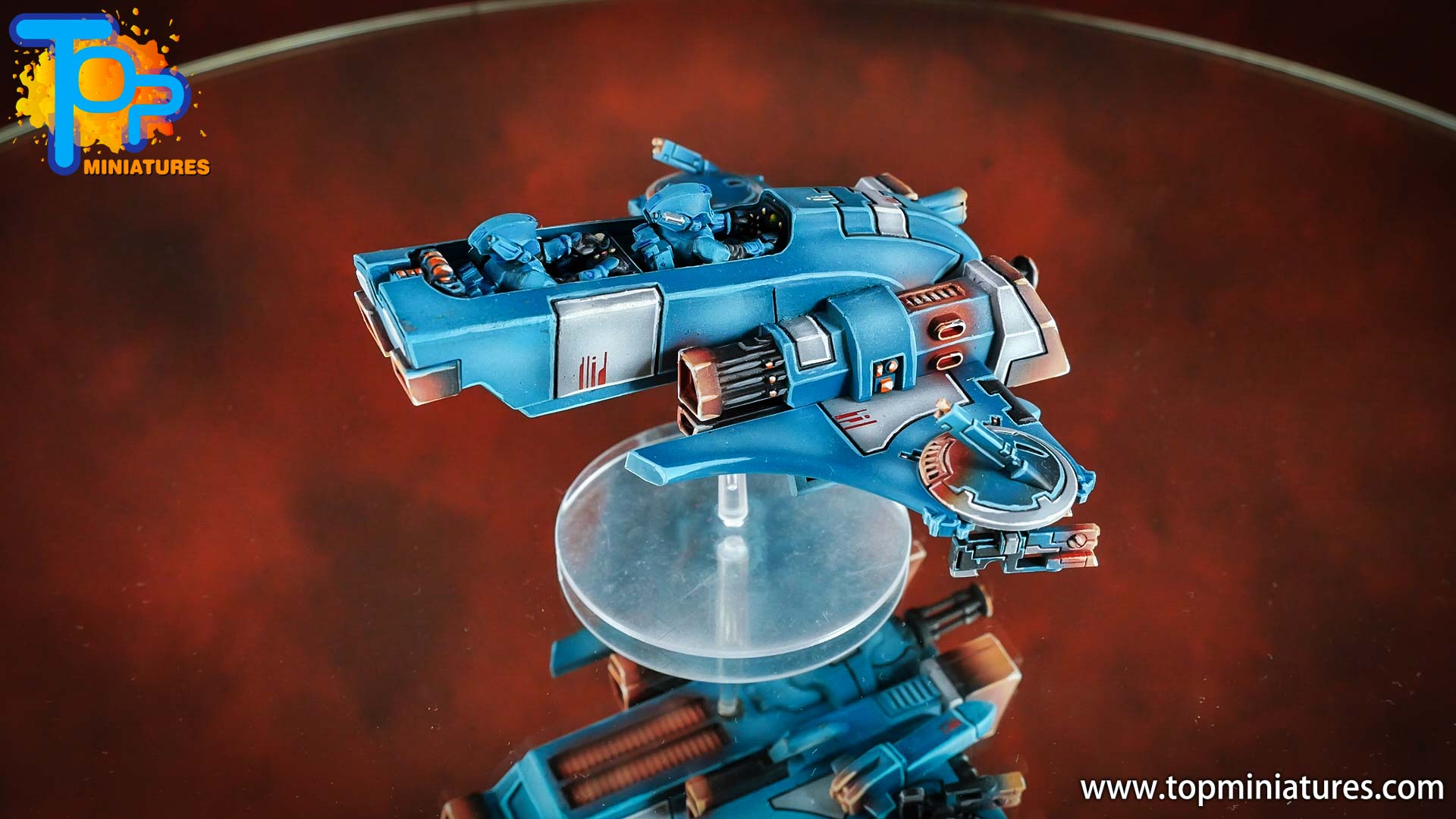 spikeybits tau empire piranha skimmer (3)