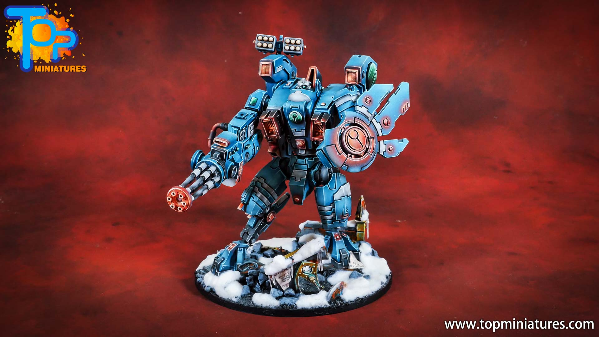 spikeybits tau empire riptide battlesuit (10)