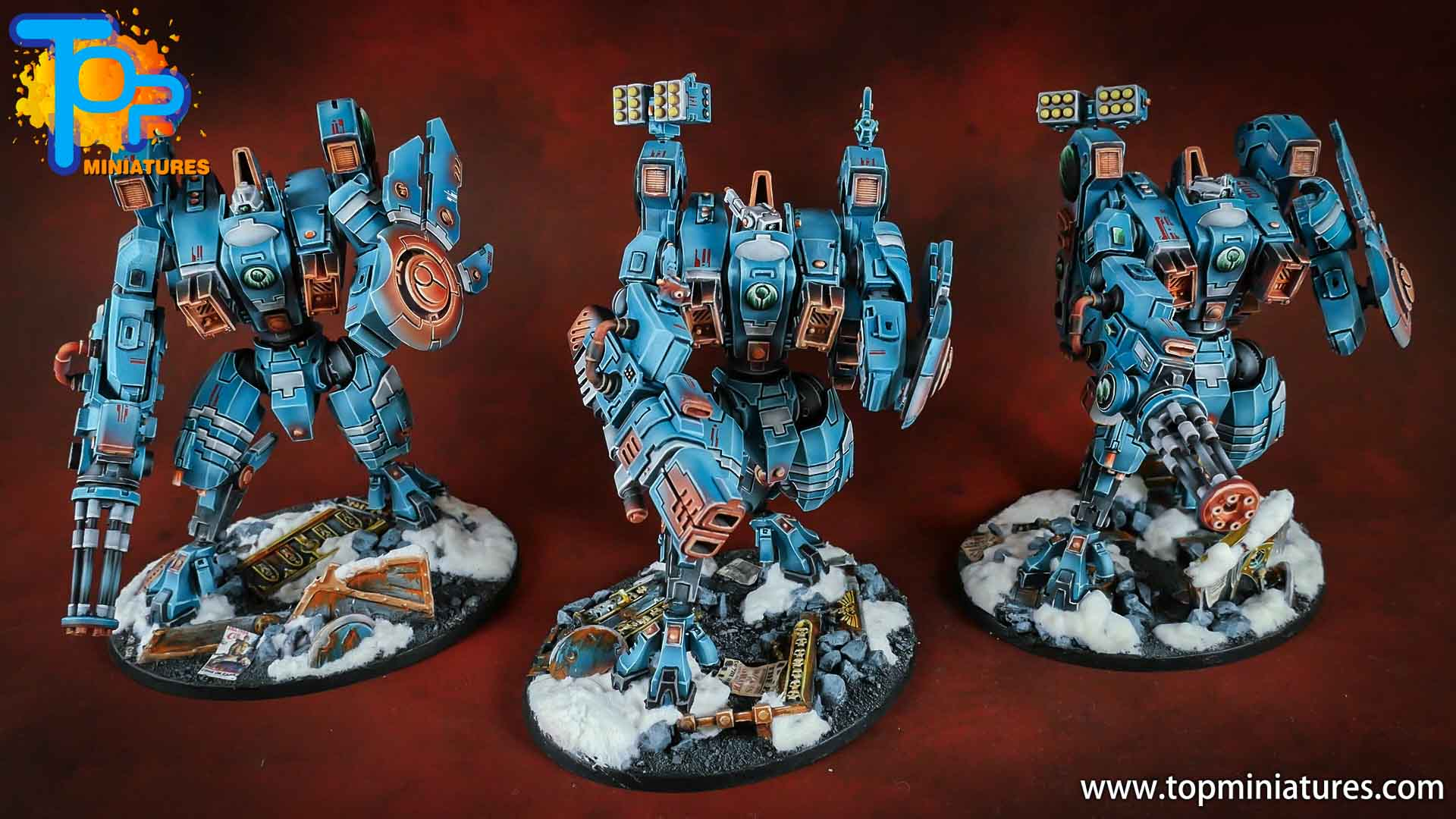 spikeybits tau empire riptide battlesuit (7)