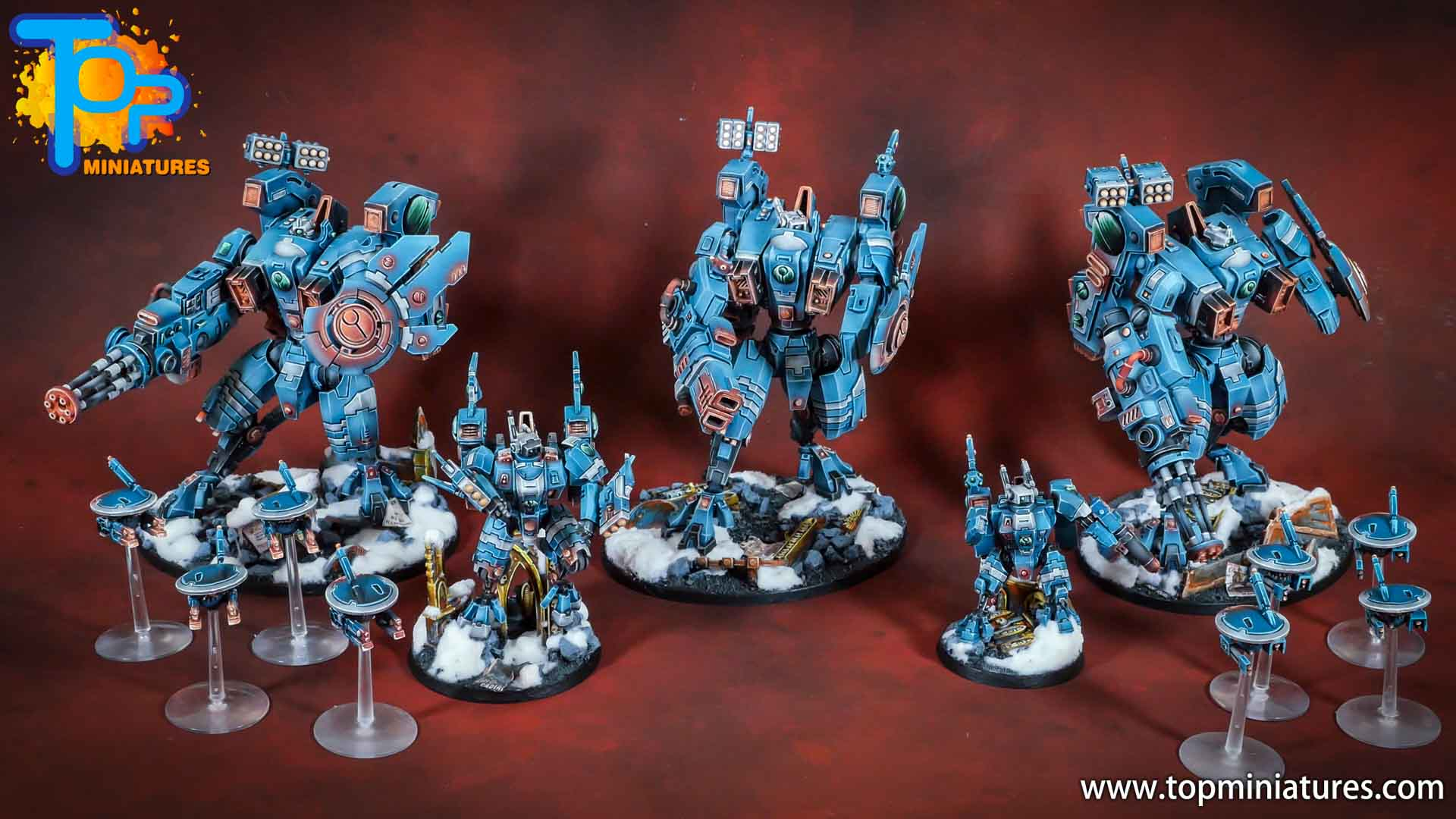 spikeybits tau empire riptide battlesuit (9)