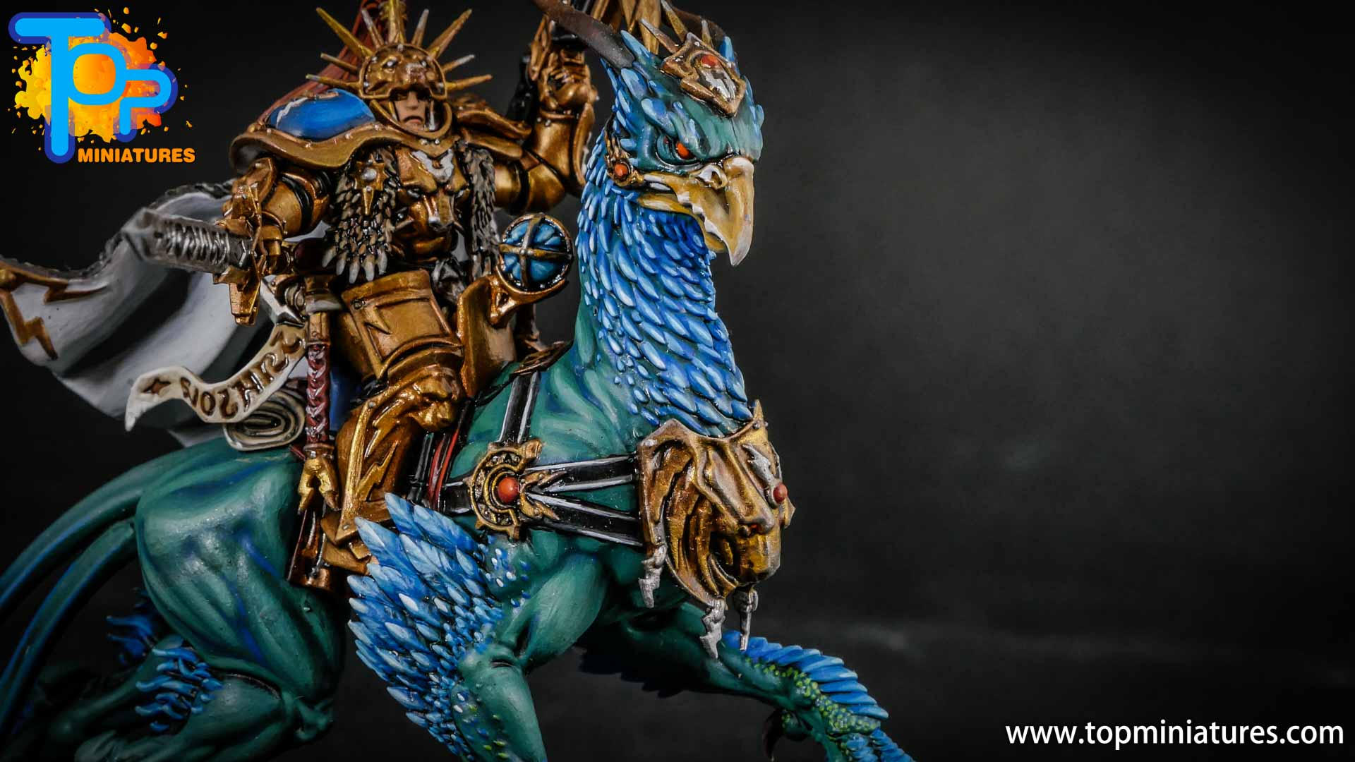 stormcast eternals lord aquilor on gryph charger (7)