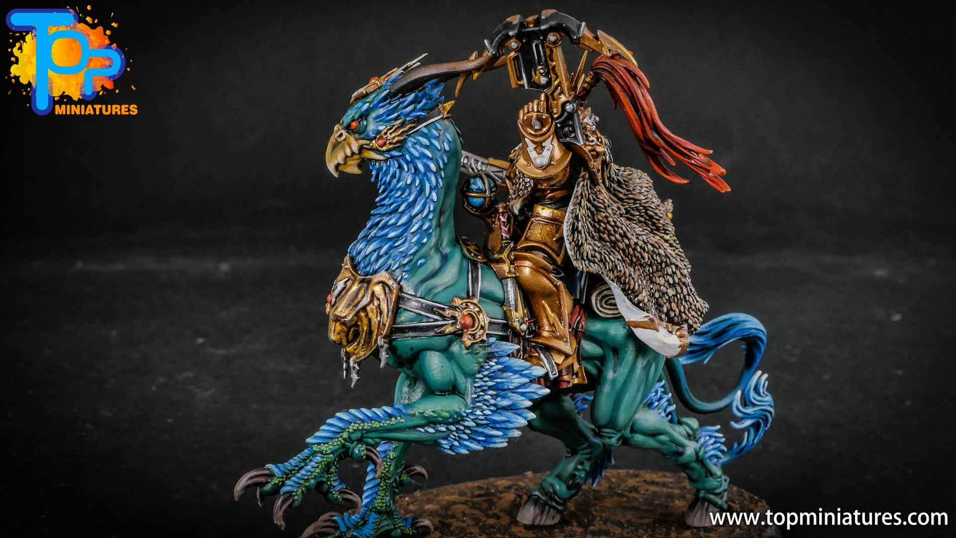 stormcast eternals lord aquilor on gryph charger (8)
