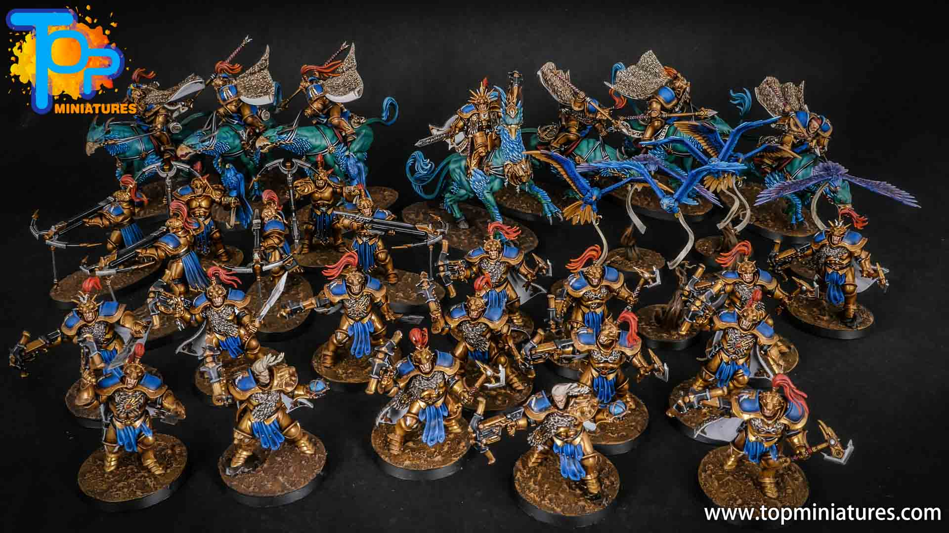 stormcast eternals painted army