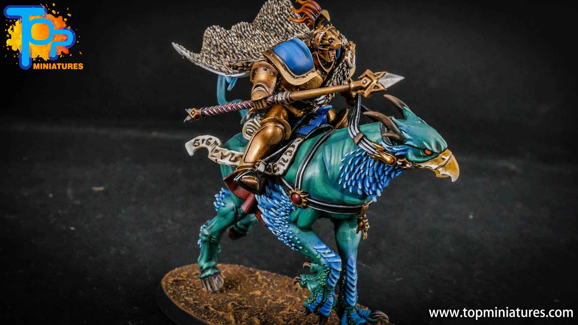 stormcast eternals painted vanguard palladors (1)