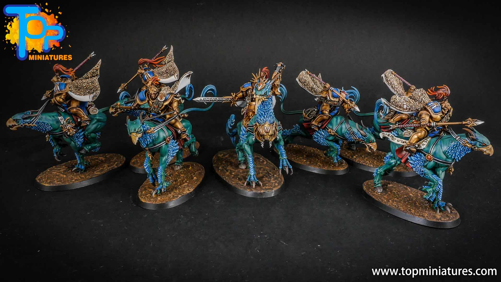 stormcast eternals painted vanguard palladors (2)