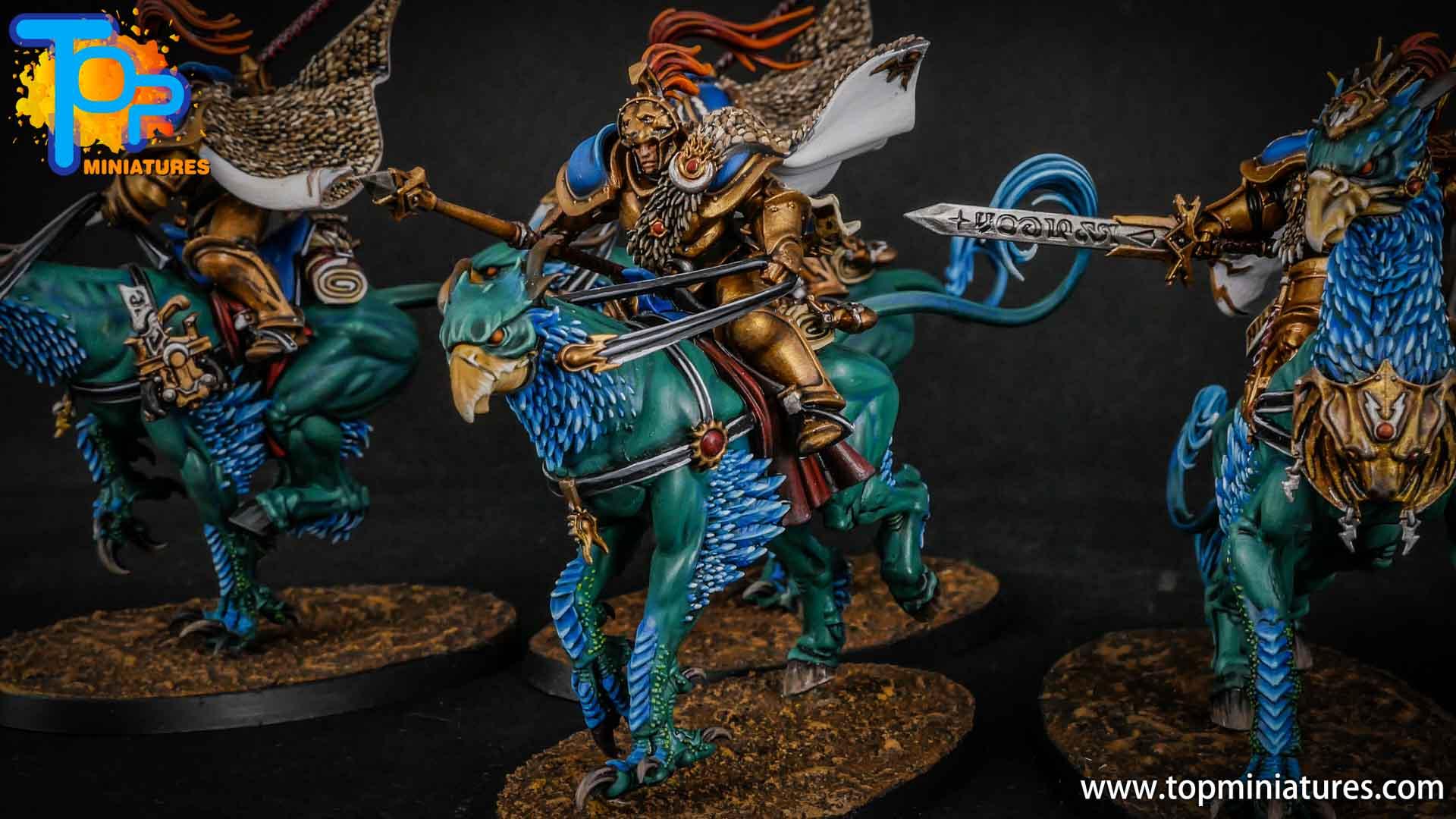 stormcast eternals painted vanguard palladors (3)