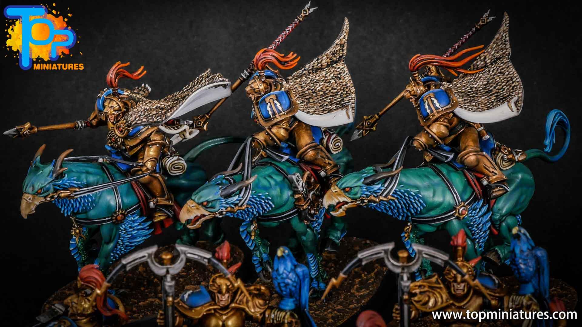 stormcast eternals painted vanguard palladors (9)