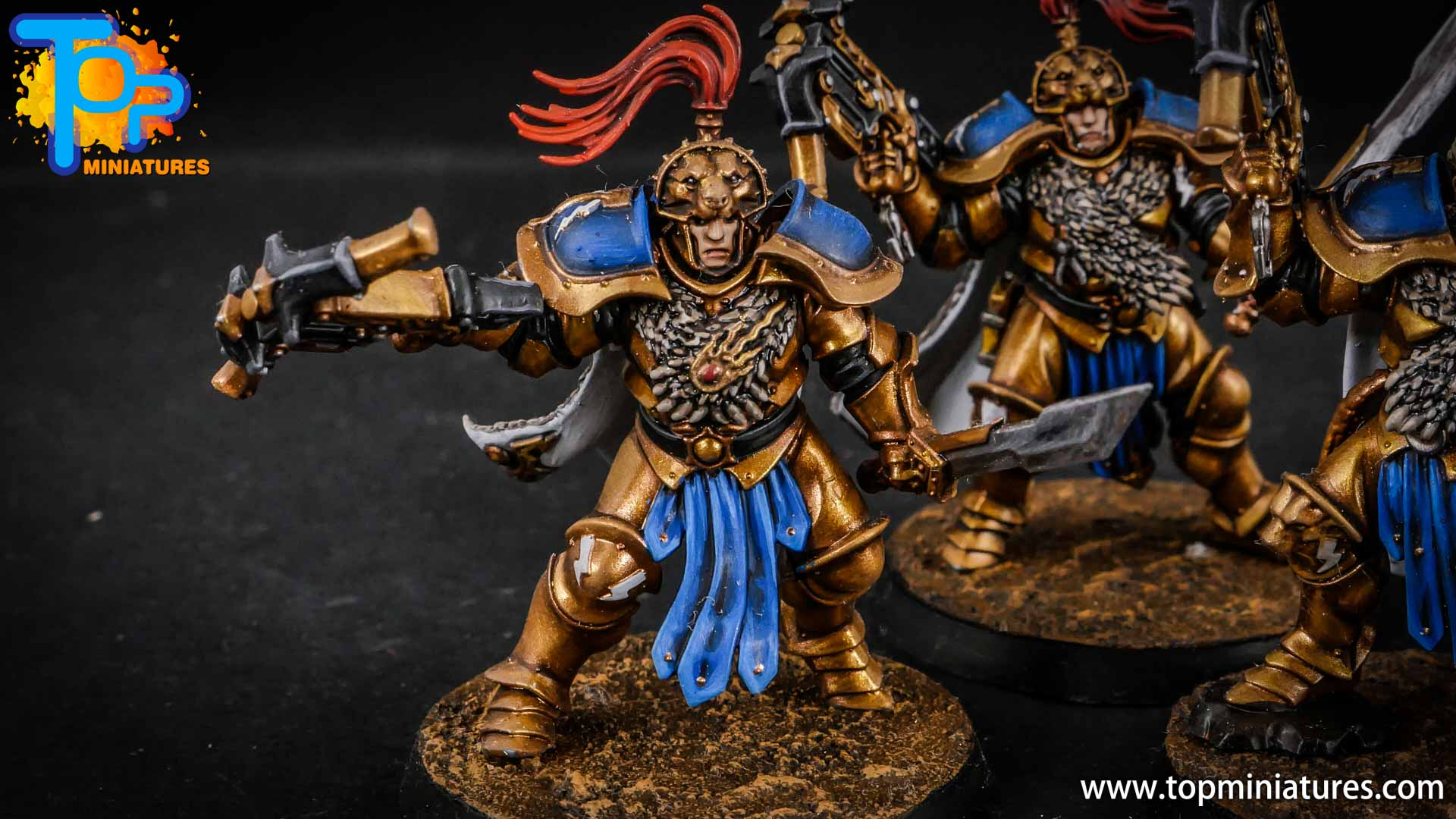 stormcast eternals painted vanguard raptors hunters (5)
