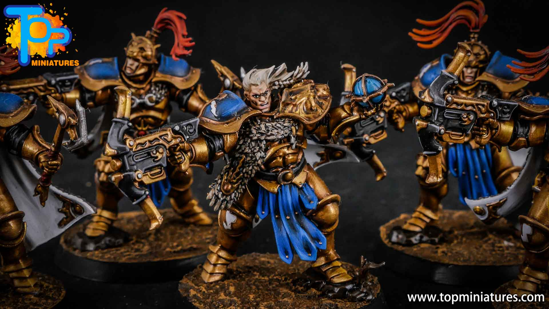 stormcast eternals painted vanguard raptors hunters (6)