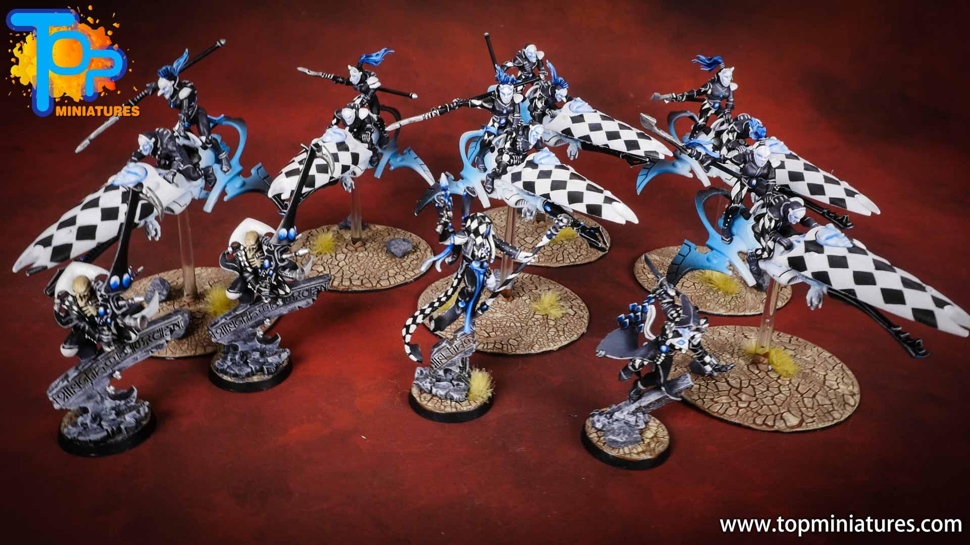 warhammer 40k harlequins painted army