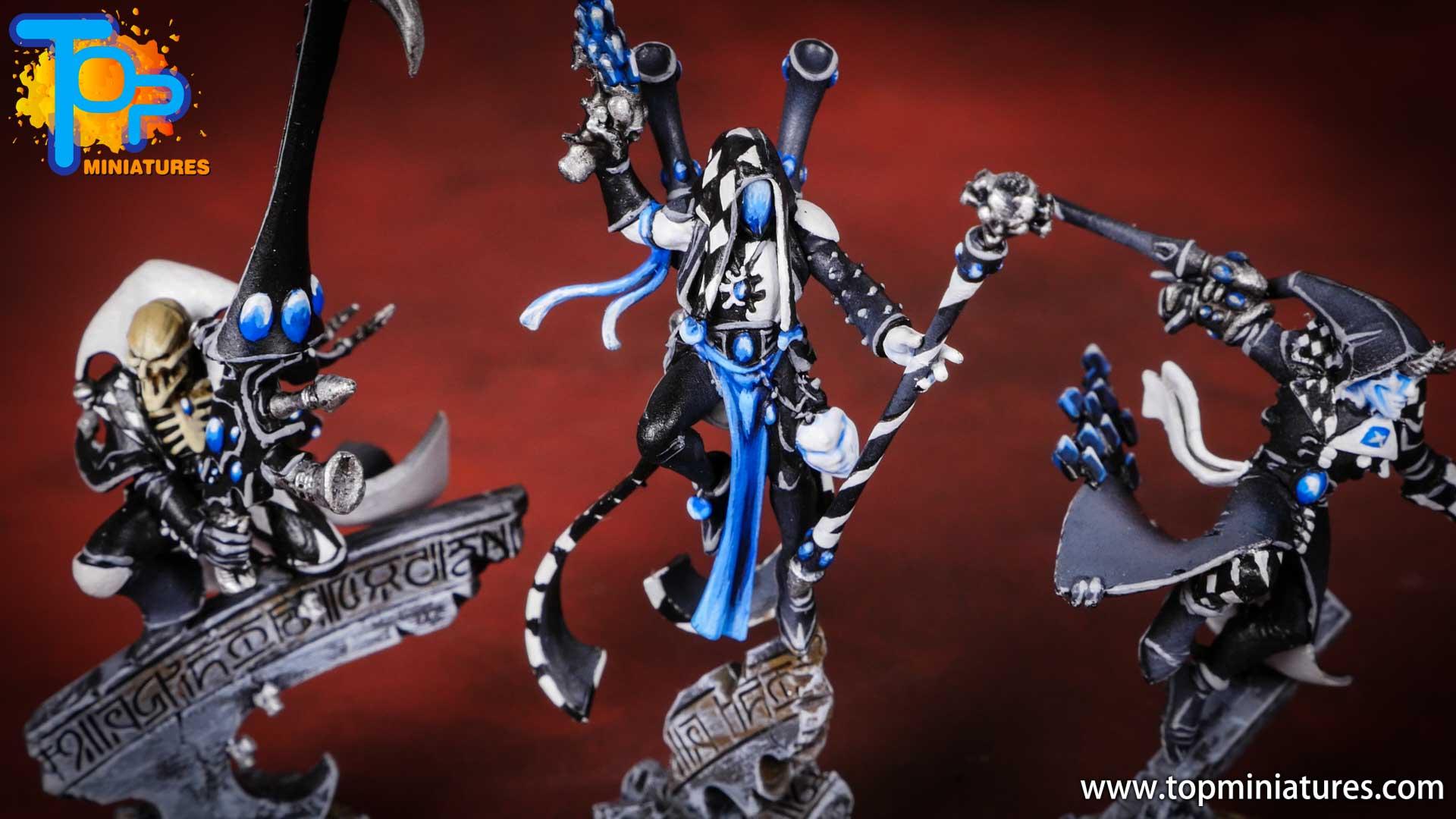 warhammer 40k harlequins painted shadowseer (2)