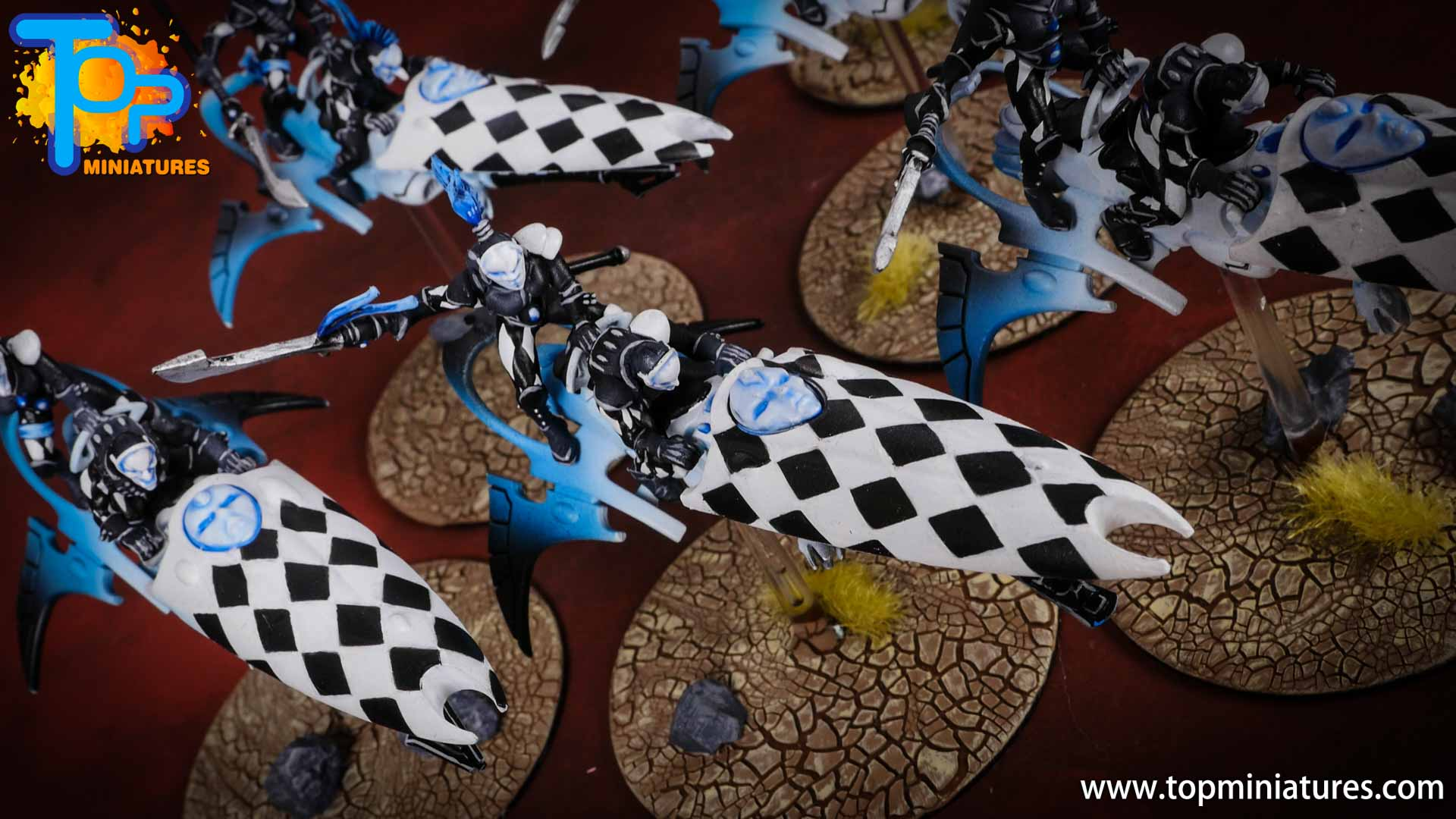warhammer 40k harlequins skyweaver checkers (2)