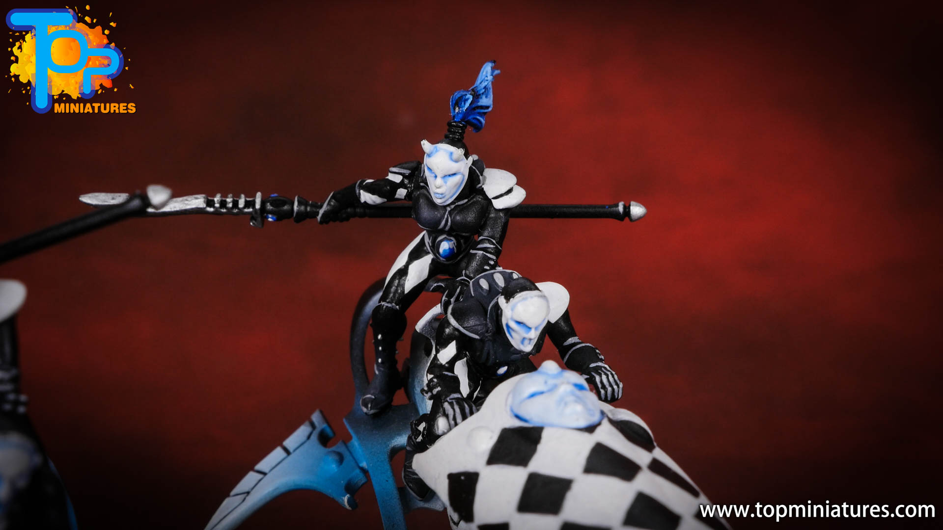 warhammer 40k harlequins skyweaver checkers (8)