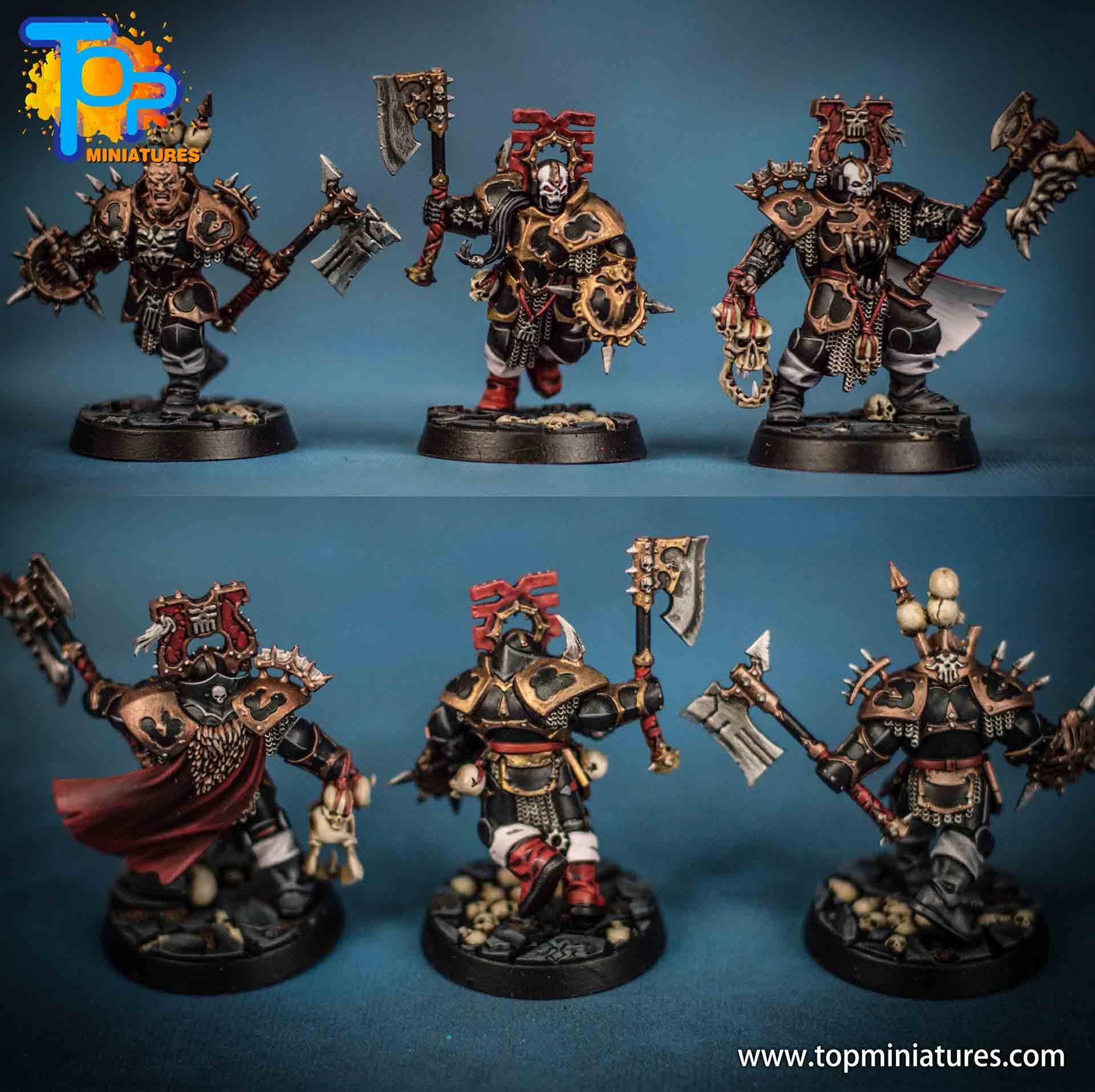 warhammer underworld painted magore redhand