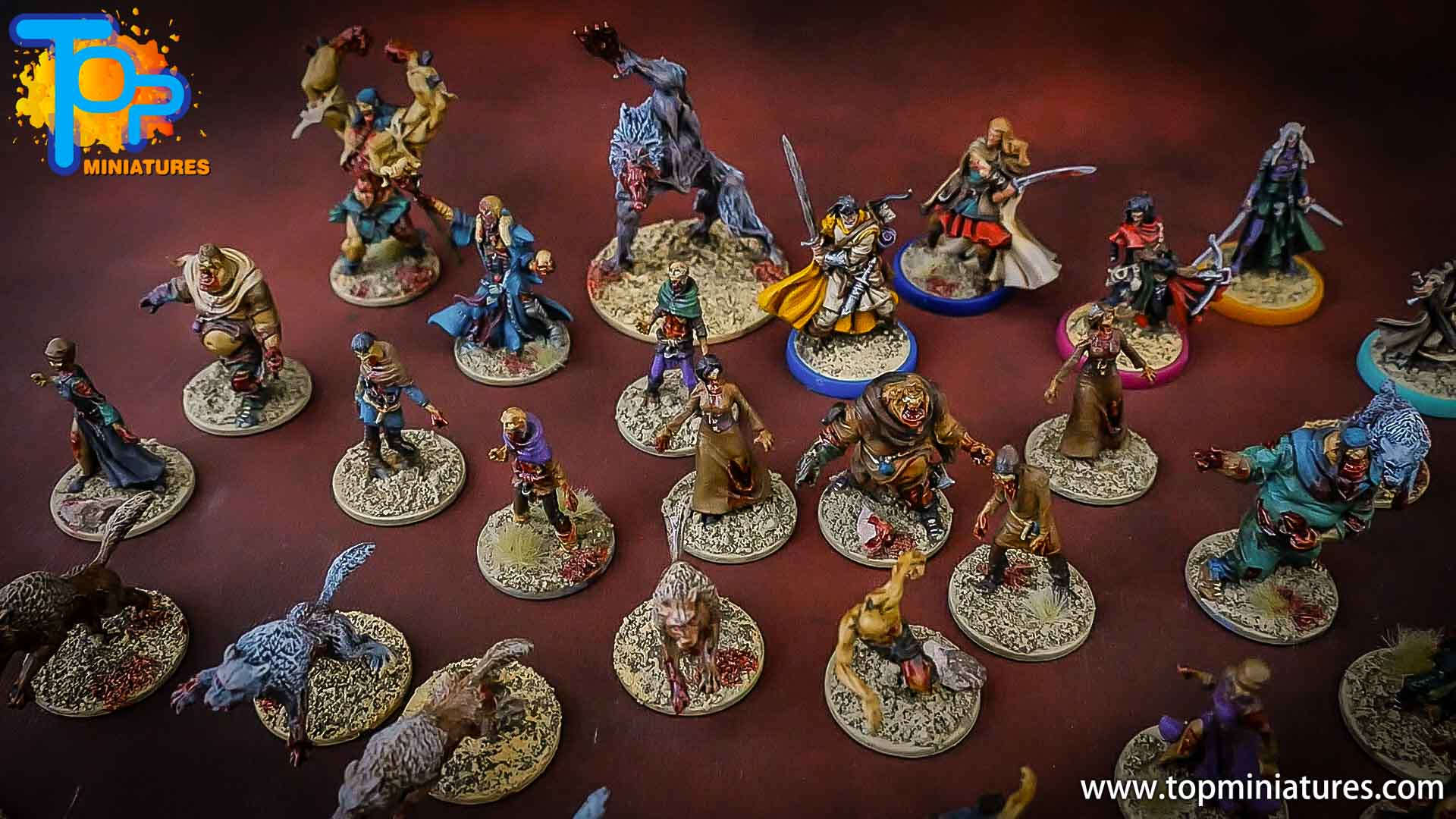 zombicide wulfsburg painted fatties