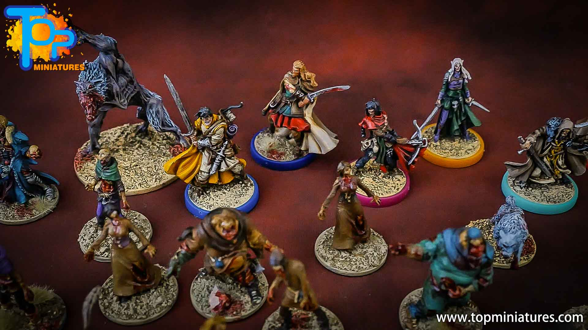 zombicide wulfsburg painted heroes (1)