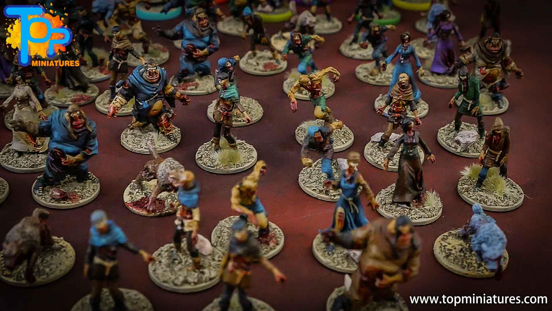 zombicide wulfsburg painted miniatures (1)