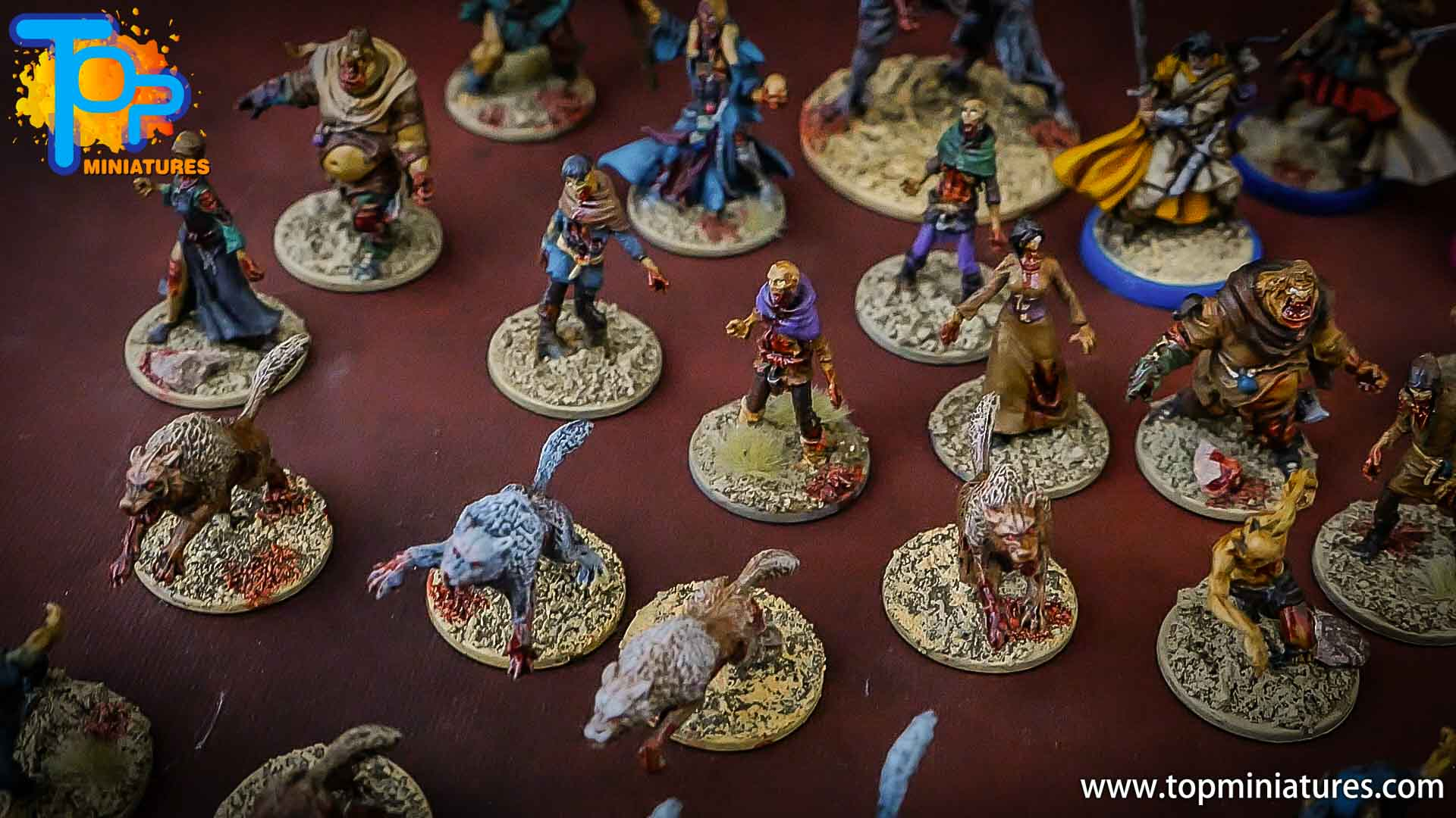 zombicide wulfsburg painted wolves