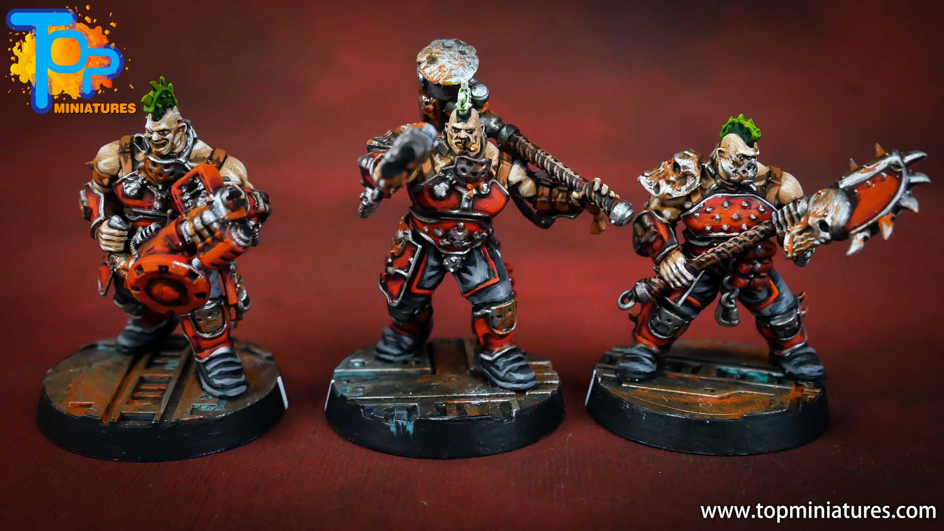 Necromunda painted house goliath (3)