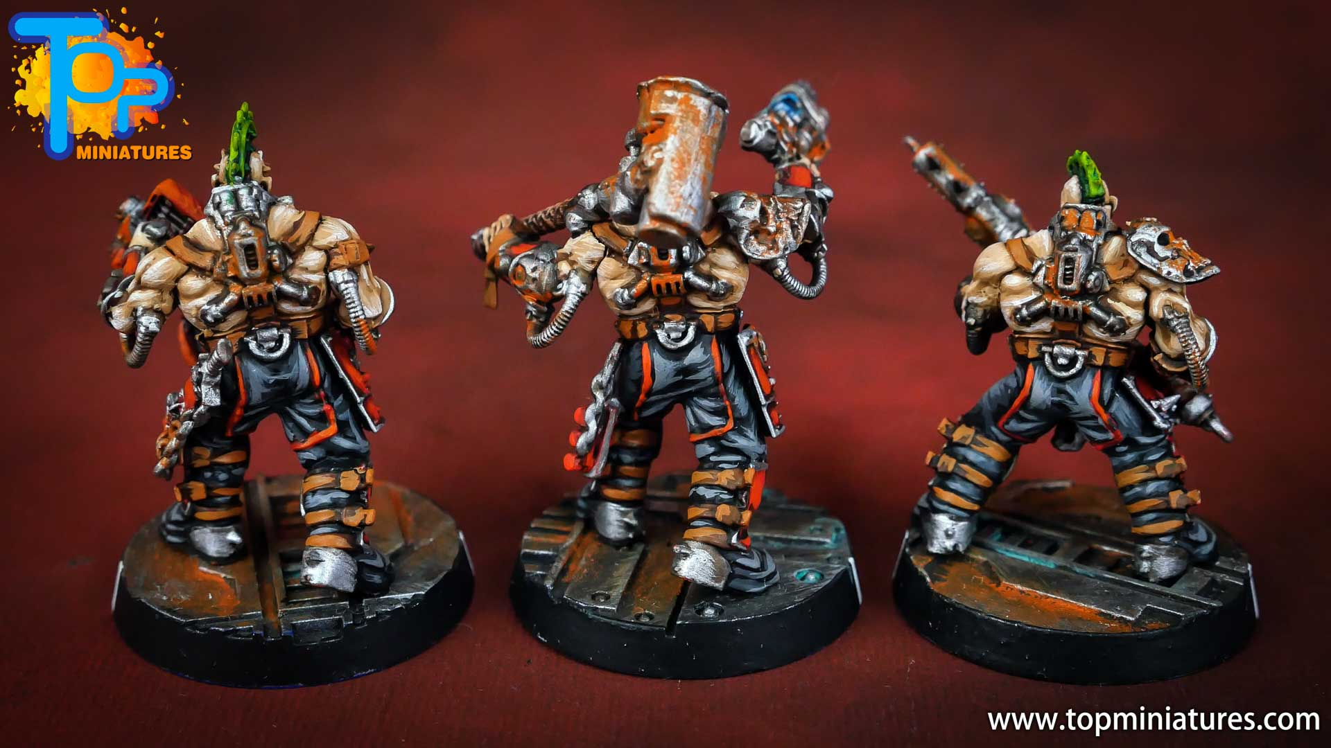Necromunda painted house goliath (4)