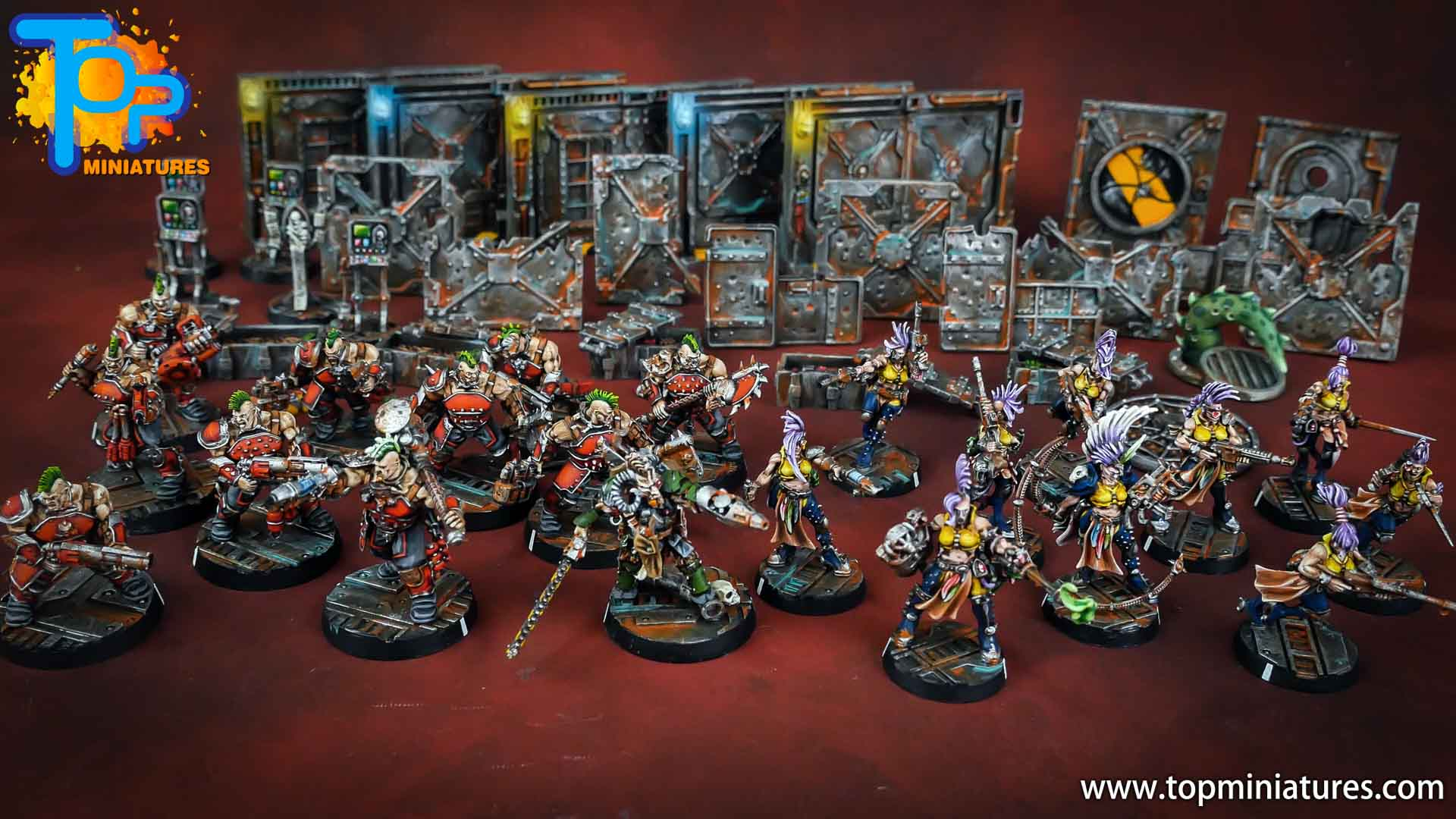 Necromunda painted starter set