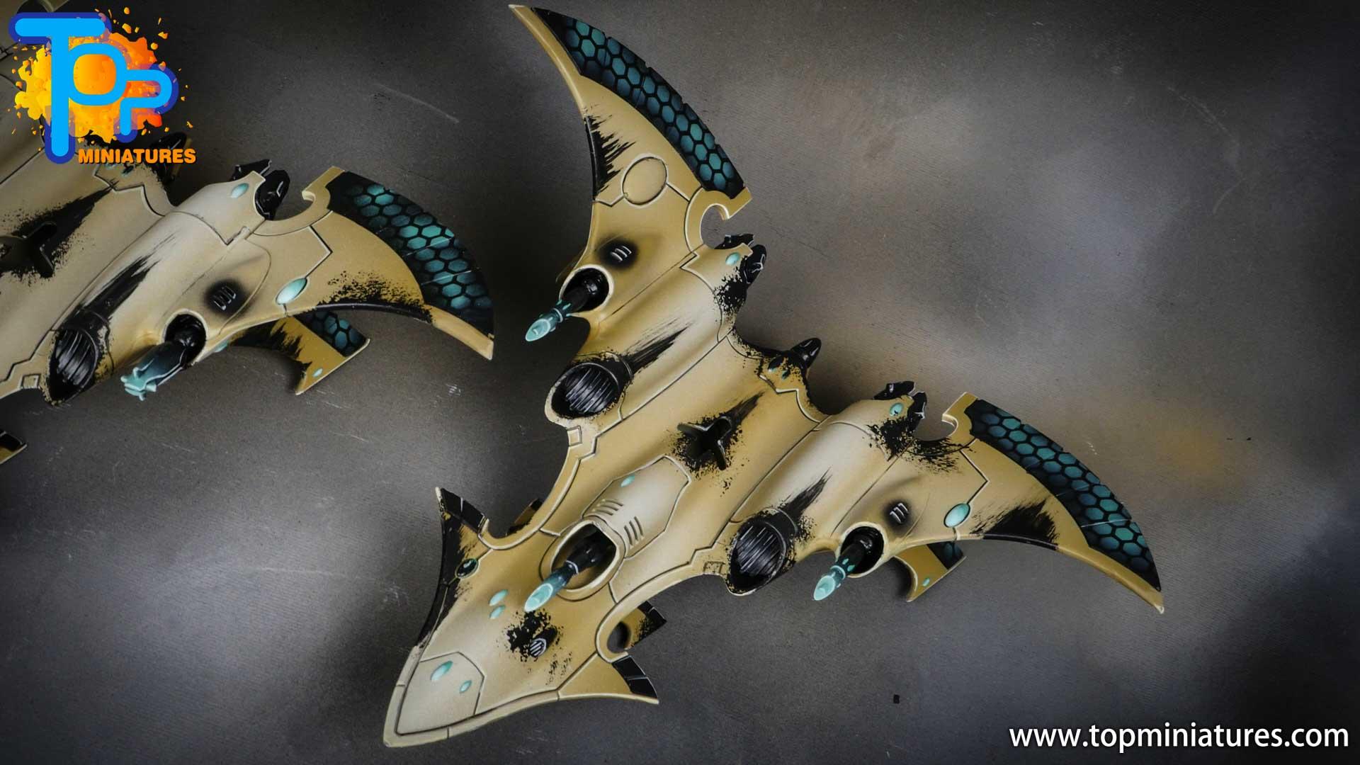 aeldari crimson hunter hemlock wraithfighter (1)