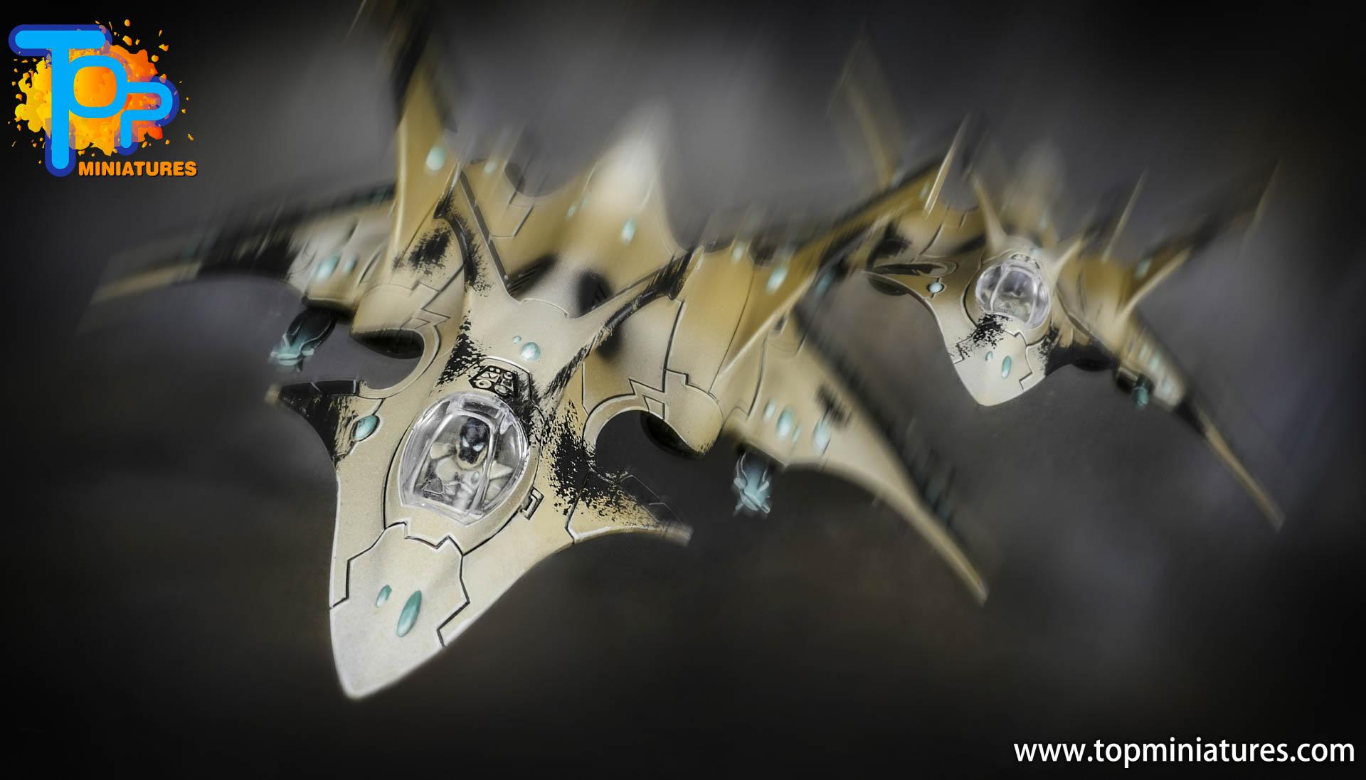 aeldari crimson hunter hemlock wraithfighter (11)
