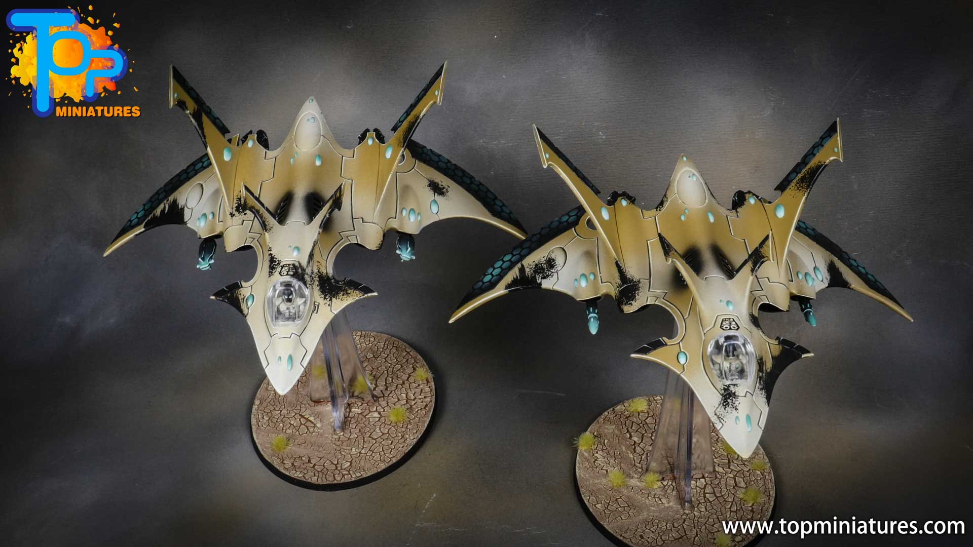 aeldari crimson hunter hemlock wraithfighter (2)