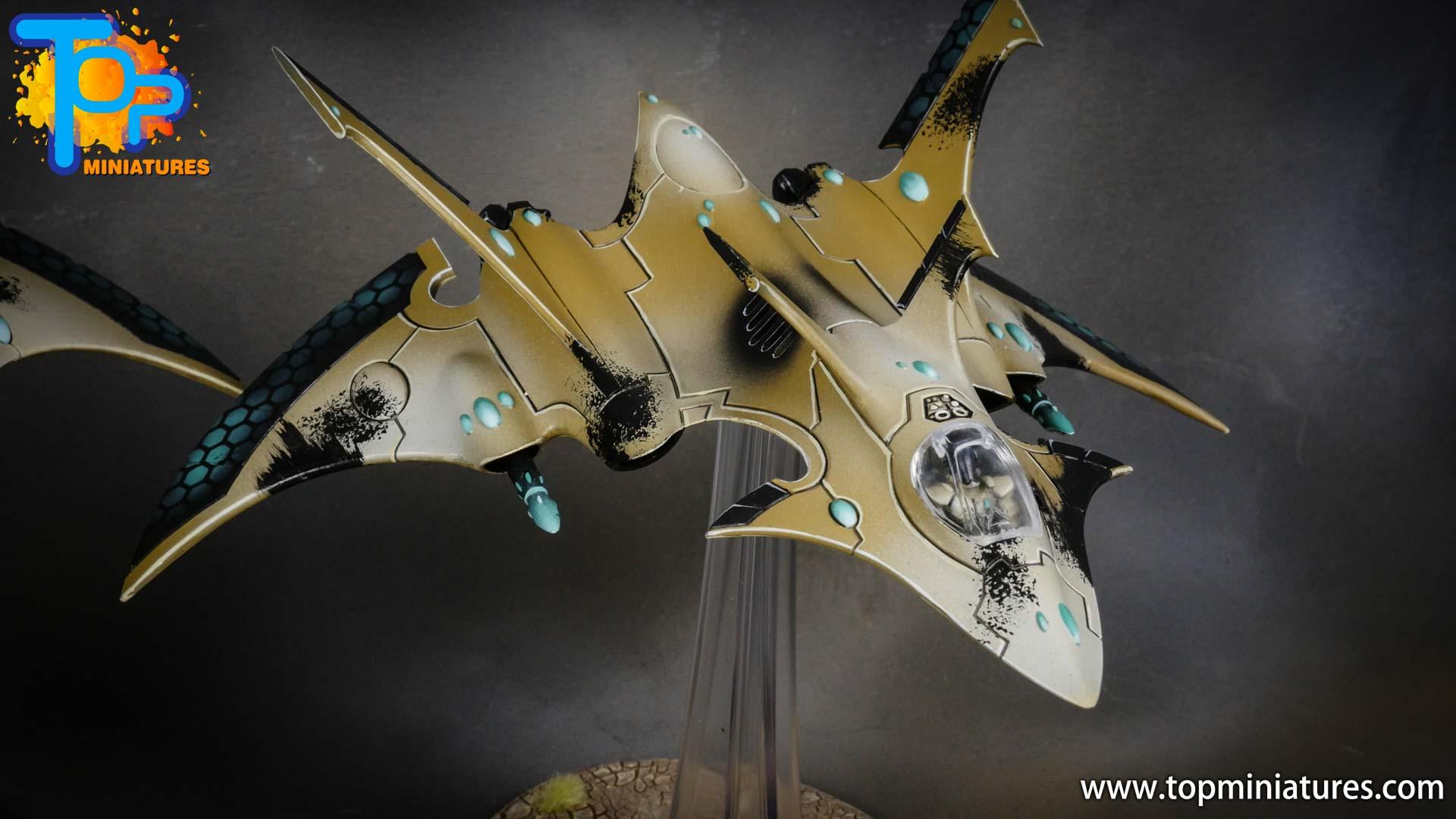 aeldari crimson hunter hemlock wraithfighter (3)